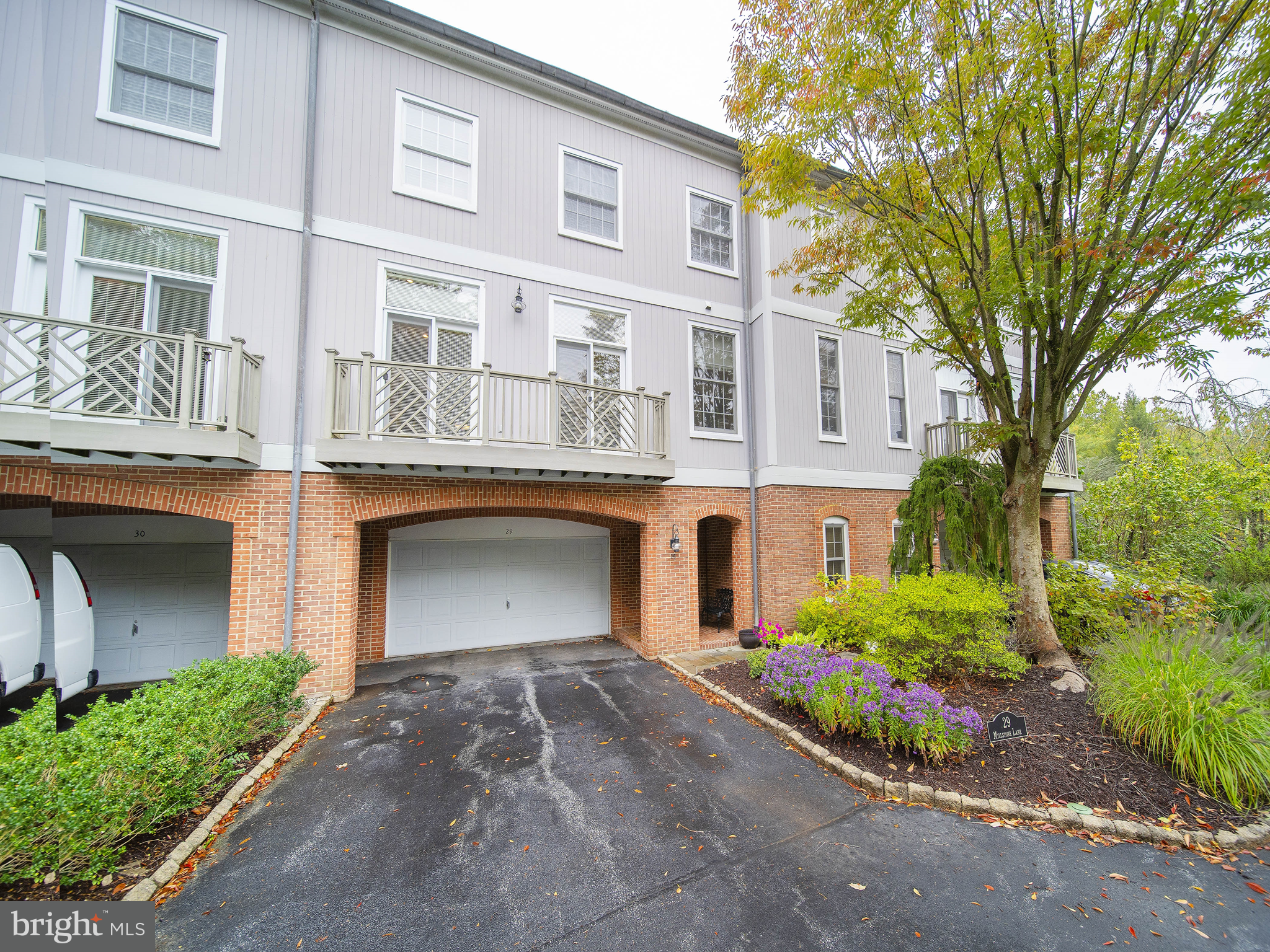 Totally remodeled 3 bedroom townhome condo located in the secure, gated community of Rockland Mills. Situated with direct views out onto the Brandywine River. First floor multi purpose room with newly installed full bathroom. On the second floor, an upscale newly redone kitchen with an adjacent breakfast nook, formal dining room leading to an attractive light filled great room with a wood burning fireplace and access onto rear deck. Upper floor laundry room plus 3 bedrooms, two baths and large walk in closet. Balcony off the primary bedroom with beautiful water views. Monthly fee includes water, sewer, trash, security, snow removal, ground maintenance, insurance management and building exteriors except for windows and doors.