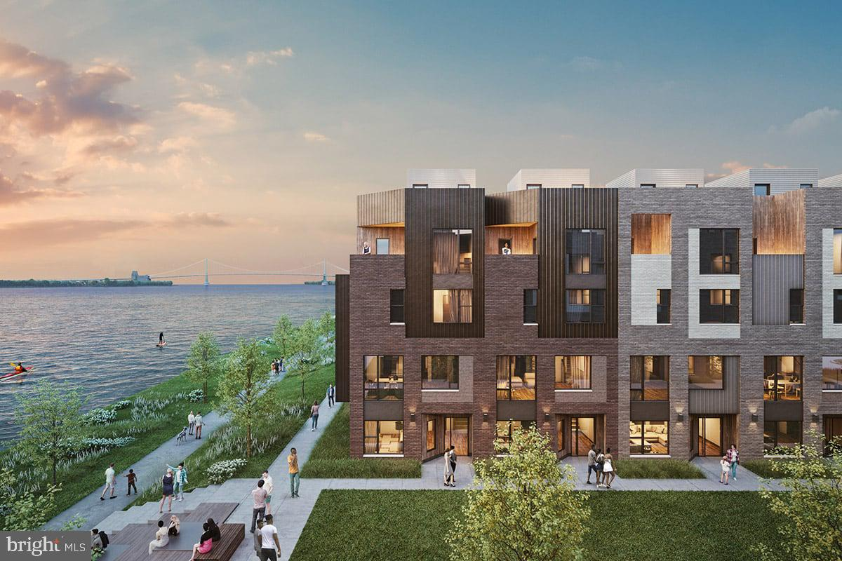 Discover a whole new lifestyle at Northbank, the citys newest, and most remarkable waterfront neighborhood. Surrounded by lush natural beauty, and just across the river from Petty Island. Steps to riverfront trails and only minutes to nearby Fishtown and Center City, Northbank offers the chance to reconnect with the water a place to discover a modern home like no other. Property owners will benefit from Philadelphias 10-year tax abatement program, an exemption from taxes on the value of the building. Perfectly situated alongside the Delaware River, this extraordinary townhome community combines the smart design and thoughtful development every city dweller demands with the dramatic views and natural splendor every urbanite craves. These new townhomes will feature 3-5 bedrooms, spacious floorplans, welcoming rooftop decks, and wide open gourmet kitchens. 3-5 bedrooms, Private rooftops and balconies some with river views, Chefs kitchen, Generous entertaining space, Open floorplans, Available Smart home technology, Energy Star certification, Private 1-2 car parking Your favorite destinations are just moments away from Northbank. This remarkable location allows easy access to shopping in Fishtown, or getting back into the bustle of Center City. What you love is always nearby when you live in this one-of-a-kind waterfront neighborhood.
