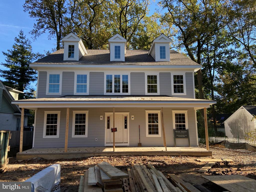 Wonderful opportunity for a Rayer Sexton new construction home in Narberth.  Your dream home awaits you in this spacious well appointed colonial in a convenient walk to everything location.  You are greeted with a large front porch then enter into an open 2 story foyer, generous custom millwork,  site finished hardwood flooring, formal Living & Dining rooms,  as well as a butlers pantry which connects to the Chefs Kitchen with professional grade appliances, custom cabinetry plus large island for gatherings.  Kitchen is open to a nice size breakfast room with sliders to a deck as well as a Family room with fireplace.  The generous mud room offers a bench seat with cubbies, a powder room along with entrance to a two car garage.  The first floor also includes a private office/playroom.  The second floor boasts 4 Bedrooms and 3 baths.  Beginning in the Master Bedroom suite with dressing room, large master bath with separate vanities, soaking tub, spacious shower and water closet.  Bedroom 2 has a private bath and a walk in closet.  Bedroom 3 & 4 are joined with a jack & jill bath.  The laundry room is conveniently located on the 2nd floor.  Walk up to a finished 3 floor with a 5th Bedroom and full bath.  The lower level has the option to expand the living space with an additional 800 sq. ft.  The exterior will feature cement board siding.  Make your appointment today to discuss this rare opportunity to be involved in the creation of your home.  Taxes and assessment TBD.   Interior Pictures are from other homes completed by builder and may include options not included with this home.   Delivery end of January 2021