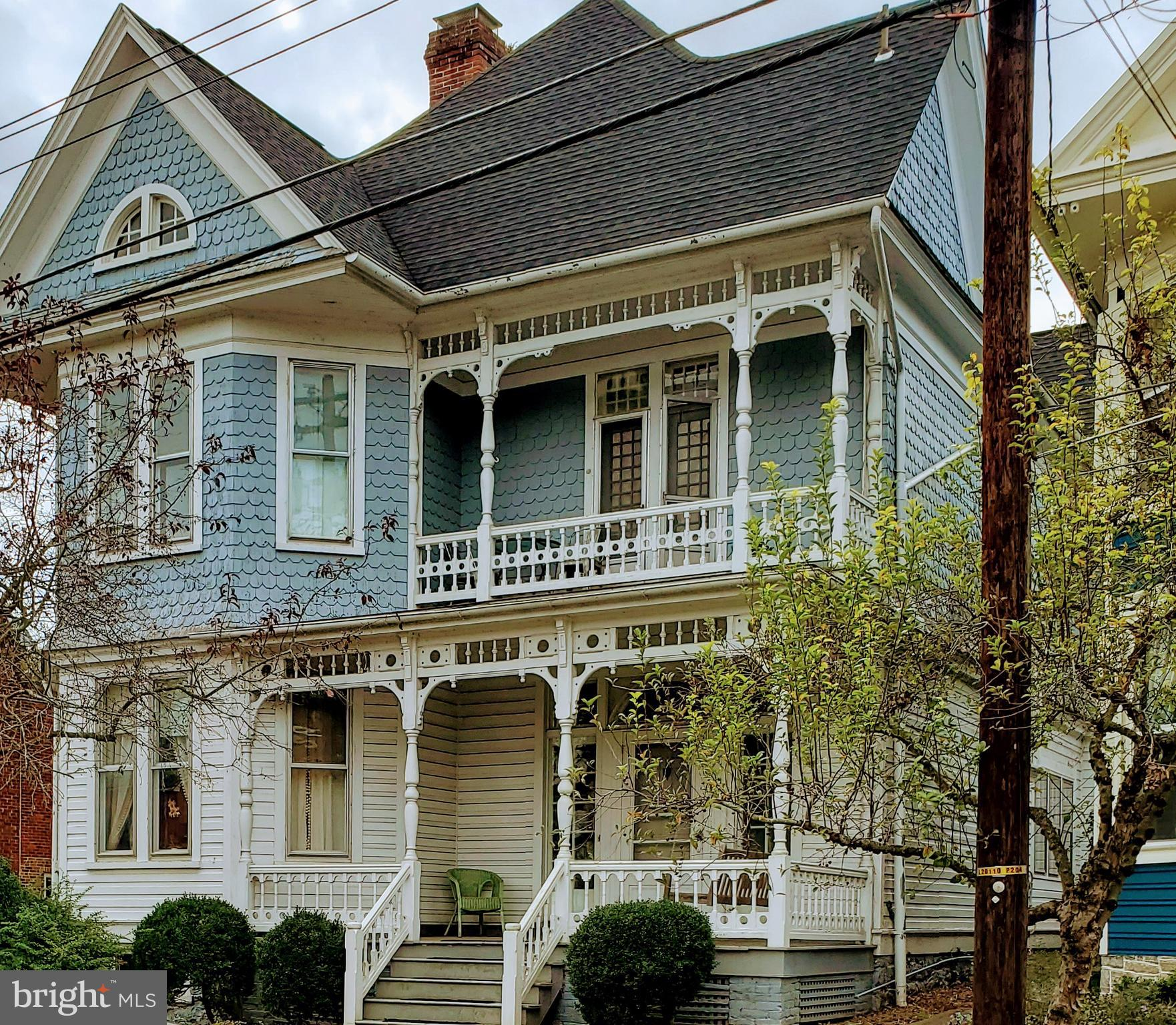 Beautiful, rare, intown , stately  Victorian now available.  Lighting is superb, hardwood floors, numerous working fireplaces, grand living and dining room, larger master suite, front and rear porches,  extraordinary large in town lot that backs to  alley.  ( could provide more private parking if desired ) Roof is six years young. Really too much to list here.  Home schooling in place so 24 hr notice to show is absolute. Professional photos with floor plan should be down loaded by Thursday. Hesitation not recommended.