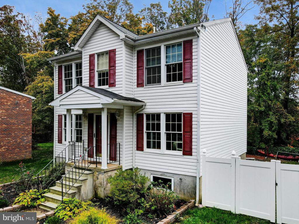 Showings not available until Thursday AM, 10/29! Awesome opportunity to own this remodeled, move-in ready home in Goodwood Farms!  The home is sure to please the most discerning of buyer.  Enjoy spacious first floor living, dining area and kitchen leading to outdoor deck  overlooking  private, wooded lot and water views.  Upstairs you are sure to fall in love with the spacious Master Suite and Bathroom along with 2 additional Bedrooms and 1 additional full Bathroom.  Unfinished, walk-out basement with ample storage space and opportunity to finish it to your liking.   Privacy fenced backyard.   Schedule a showing today!