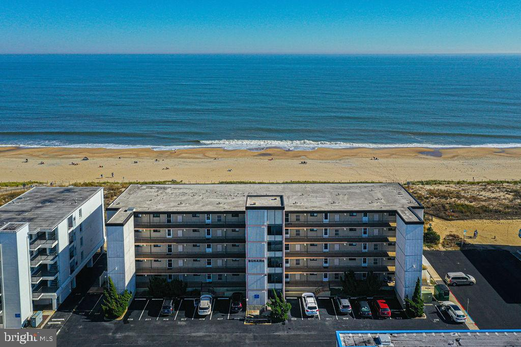 Direct south facing oceanfront condo recently remodeled located in Ocean City, Maryland.  This spacious unit features an upgraded kitchen with granite countertops and stainless steel appliances. New flooring throughout the condo. Enjoy spectacular sunrises from the spacious screened balcony.