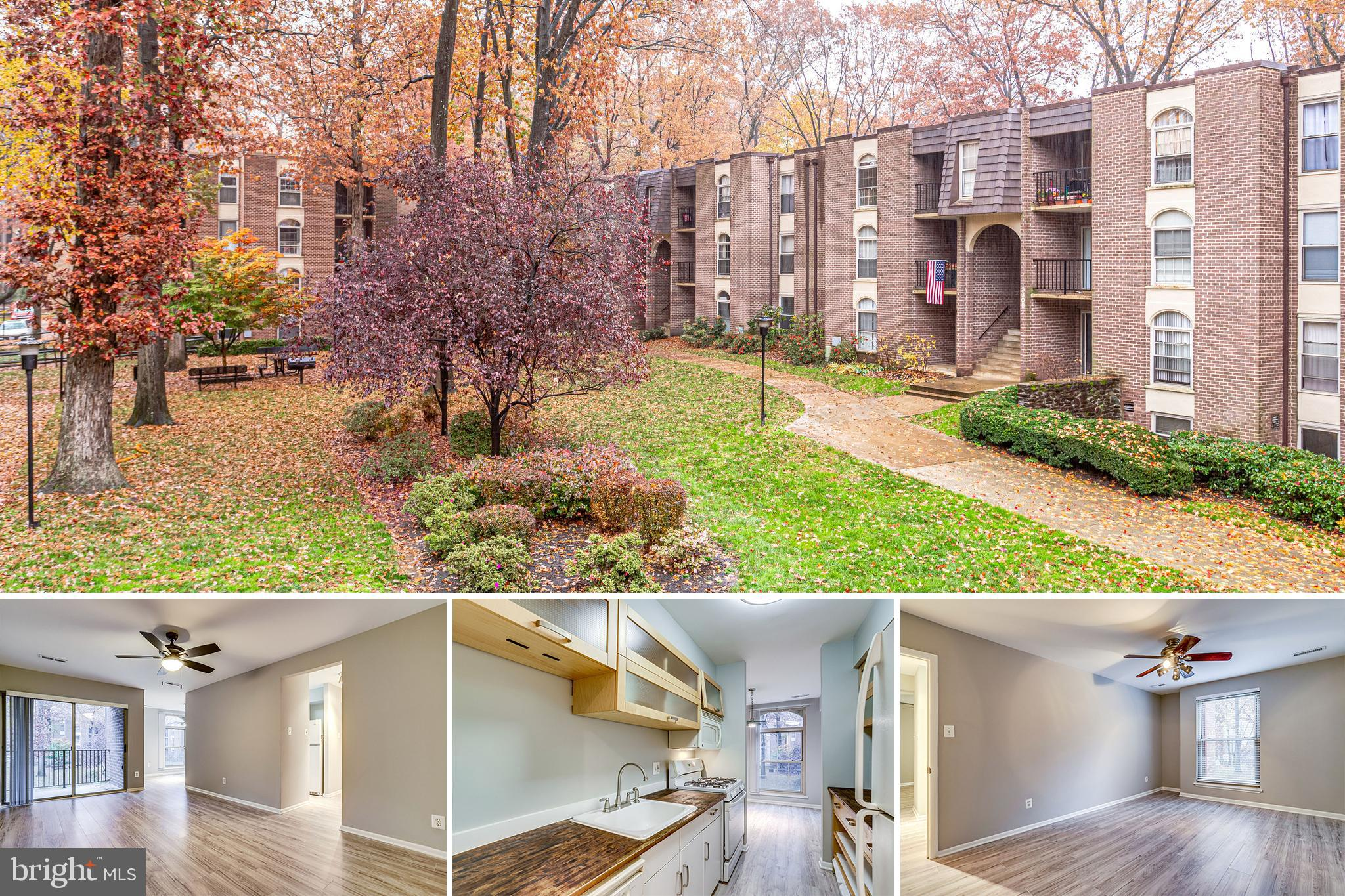 Wonderful 1br/1ba in convenient Woodburn Village. Great updated kitchen and bath, new flooring and paint!  Easy access to 495, 66, 267, Rt 50. Easy walk to INOVA Fairfax. Utils inc in condo fee. Common laundry room in basement. Extra storage space. Great amenities like pool, tot lots, tennis courts.
