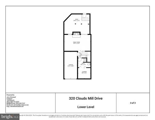 320 Cloudes Mill Dr, Alexandria 22304