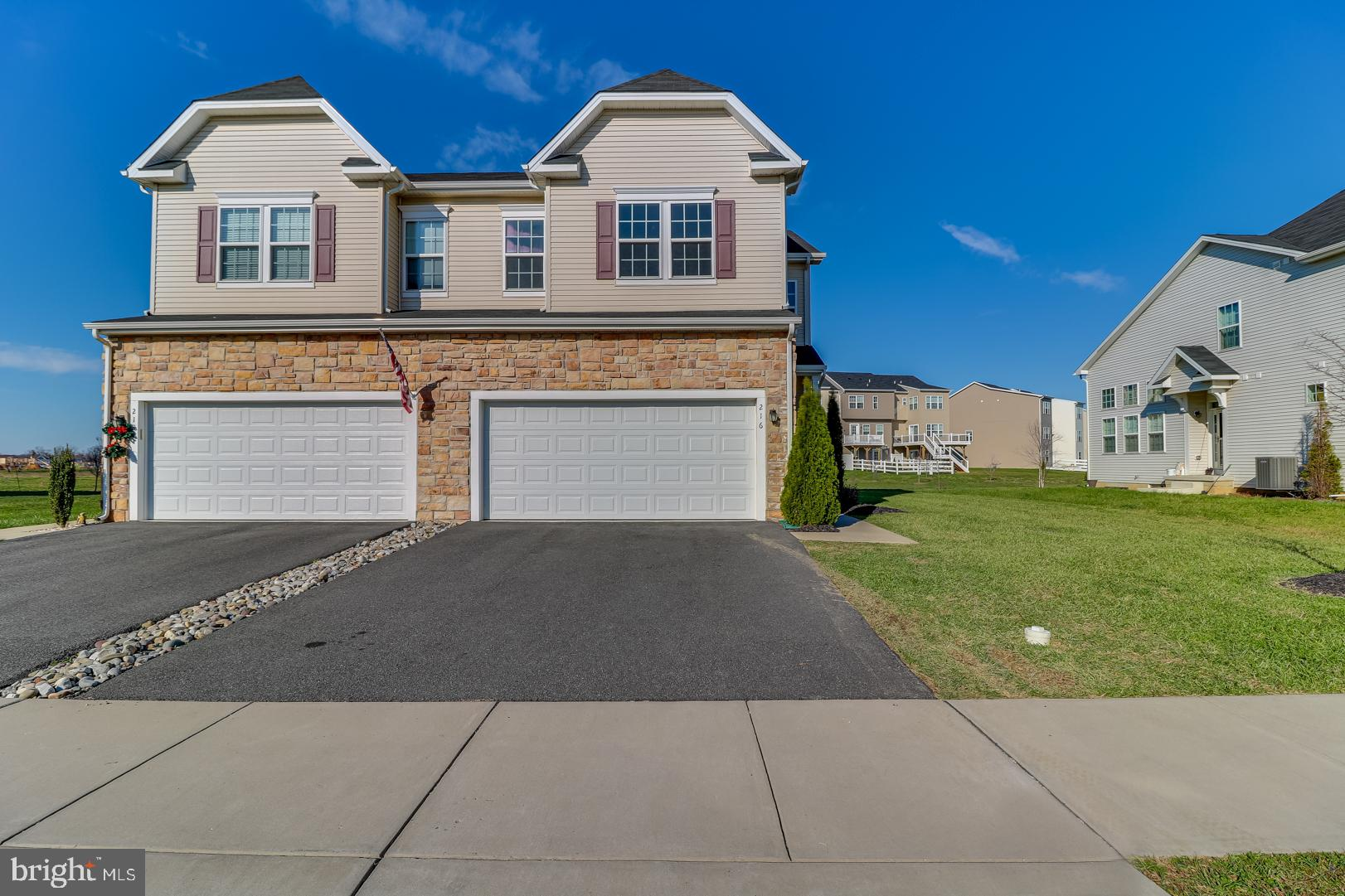 Visit this home virtually: http://www.vht.com/434123852/IDXS - This beautiful home is only available due to sellers having to relocate.  Located close to major highways and local comforts, just minutes from Rte. 1, 13, 301 and 95.  With 4 large Bedrooms and 2.5 Bathrooms, space will not be a problem! Walk into to a beautiful open concept kitchen and living room, great for entertaining. The kitchen has a large island with granite countertops and gorgeous backsplash on the walls, stainless steel appliances, and hardwood floors throughout the main level. Second floor laundry-no more lugging baskets up the stairs, a huge master bedroom that has an ensuite with a garden tub, separate walk-in shower, and double vanity, 3 additional large bedrooms. Call this place home just in time for the New Year! ***Seller will give credit for carpet