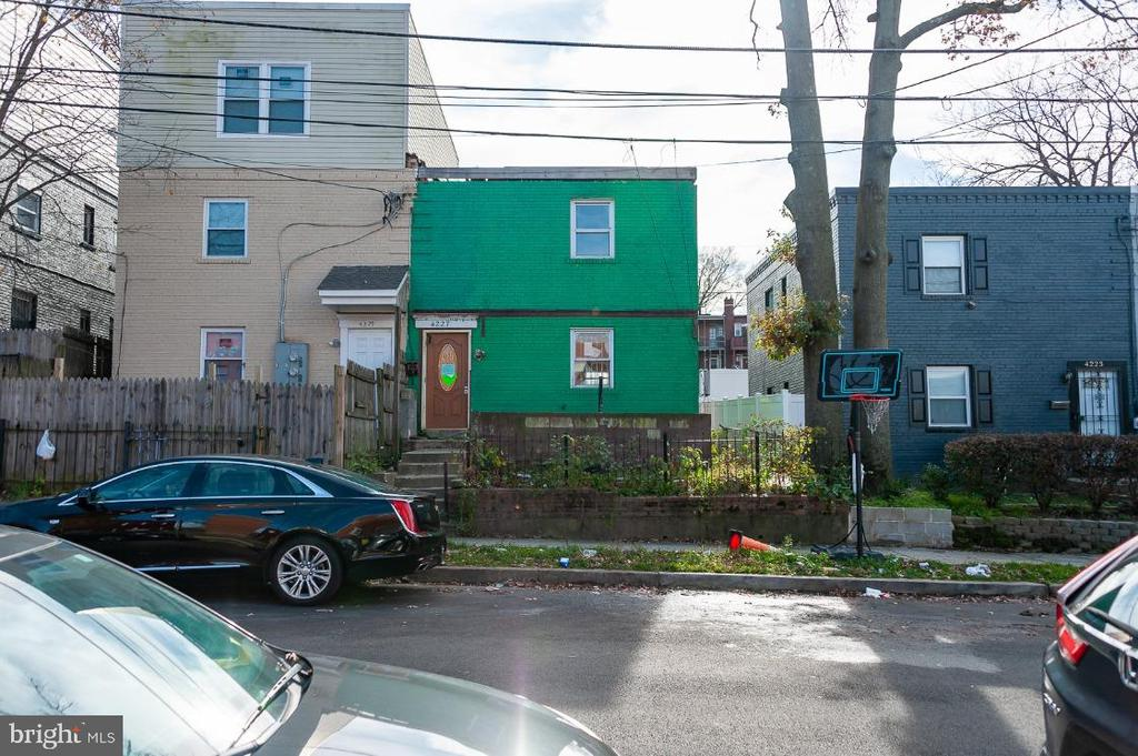 Shell property with no working systems.  Darling Federal rowhome in tranquil setting waiting your full renovation ideas. Home needs all new electric, plumbing, HVAC, etc, and is perfect for the seasoned investor looking for a property to fully rehab. Located in Deanwood with nearby shopping and provides easy access to metro. Sold as-is.  Cash Only.  All offers must include proof of cash funds to close.