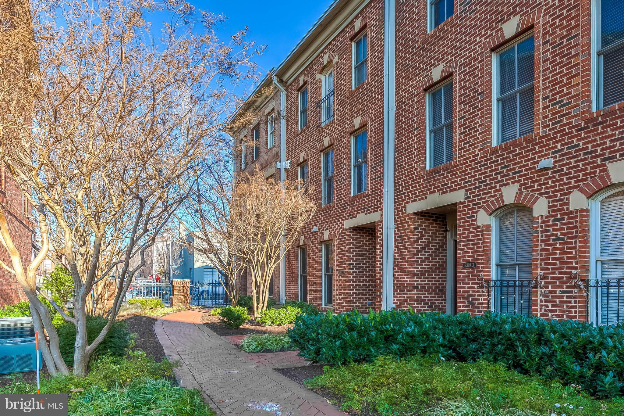 Come  fall in love with this picture prefect three bedroom   townhouse in Canton's quiet North Shore Community. With 4 parking spots, you can leave the cars at home and enjoy all that Baltimore's waterfront has to offer. Just steps to the beautiful Inner Harbor Promenade where you can head east towards the eight acre Canton Waterfront Park or follow the promenade all the way around the Inner Harbor to Locust Point and Ft. McHenry.  This home is centrally located walking distance to the many shops, restaurants cafes and more in  Canton Square, Canton Crossing, Fells Point, and Harbor East. With easy commuter access to 95 and 83 you can easily drive anywhere you need to be.  At home, enjoy baking and cooking in the gourmet kitchen where there is plenty of counter space for even the most adventurous cook. With an oversized pantry, you will always have just what you need on hand. Enjoy dining, working  or just relaxing on your private rear balcony. The generously proportioned  Living Room provides two sitting areas or a sitting area and formal dining space. The upper level offers a restful and renewing Owner's Suite with oversized soaking tub and separate shower. The  additional second floor bedroom offers a partial water view and makes working from home a pleasure. The two car garage includes extra storage space or.. if your choose, park in the two rear outdoor parking spots and convert the  extra large garage space into a workshop or home gym.