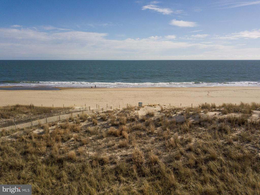 "It's finally happened.  One of the last parcels of undeveloped oceanfront property in North Ocean City is available.  It's time to build your dream home or build multiple homes!  Yes, this offering includes two lots, both zoned for multiple dwellings.  The ocean front lot provides the extremely rare opportunity for direct ocean views on both the east and north facing sides of the property and is zoned for either one or two dwellings.  With 3,500 sq. ft. of buildable space on a 10,000 sq. ft. lot, your direct ocean view will always be yours.  Step out your back door and onto the beach.  Can it get better than that?  Yes!  The second lot, located directly behind the ocean front lot, is 6,500 sq. ft. and zoned for up to five additional units.  While this parcel has a house located on the property, the property is being sold ""as-is"" for lot value.  If designed properly, dwellings on the back lot could each have direct ocean views.  Between the two lots, you can build up to six dwellings.  Let your imagination run wild.  Build a single-family ocean front home or build two ""twin"" ocean front townhomes.   Want a private pool?  Use the second lot to build overflow guest suites, a pool with pool house and spa, and/or additional parking.  Truly, this is a one of kind opportunity ready for the taking.  Located just one block off Coastal Highway in North Ocean City, this property is minutes to restaurants, mini-golf, shopping, multiplex movie theater, and everything Ocean City is famous for.  Additionally, you'll be living 3/4 of a mile to the Delaware border, where tax-free shopping and dining are cornerstones for beach life.  Survey available upon request."