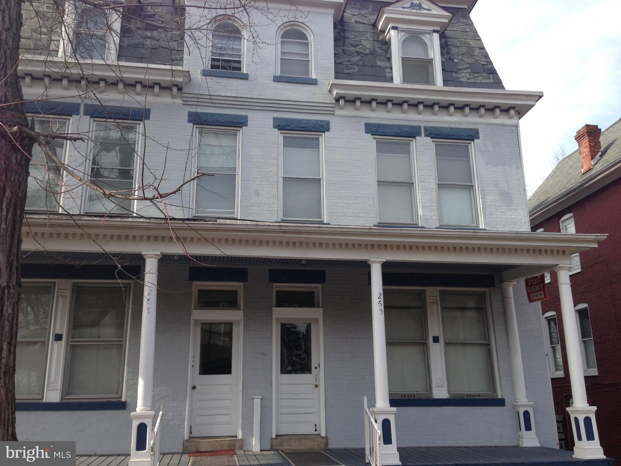 Here is your chance to own a truly amazing property, You'll love this charming, 3-story all brick building with spectacular curb appeal and with plenty of upside potential, 8 1-2 BR/1 Bath, off street parking. All utilities fully separated. This property is part of a portfolio comprised by 4 building for a total of 23 units. MLS# MDWA168602 / MDWA168598 / MDWA168610 / MDWA168612