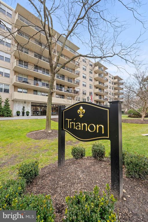 A rare one-bedroom unit  in the Main Line's most desirable coop buildings, The unit has been home for two decades for the current owner, lovingly maintained (mostly new appliances), it is ready for either a sprucing up or major renovation - buyer's preference. There are two elevators or one might take the stairs. The kitchen has track lighting and bright white cabinets, The stacked washer and dryer in the unit are brand new. Only the refrigerator has some age on it. Large open dining and living area have hardwood floors.  Double sliding glass doors open onto a long and wide covered balcony. Sunlight pours into the whole open space. The view from the balcony is of the Church of St. Asaph campus. Great storage runs throughout with a large coat closet in the entry, a deep walk in closet in the bedroom and ample linen storage in the bathroom. Highlights of the well maintained building include a lobby which will be under renovation soon. (At present the lobby furniture has been removed to encourage social distancing due to Covid-19) , a renovated and spacious community room which provides a location for social events, a library, card tables and full use kitchen (Available post Covid). Finally, there is a beautifully landscaped resort sized pool and cabana area. There is no cost for residents to use the pool area but cabanas are available for seasonal rent. In season, there is a pool lifeguard and the area include both a kosher grill and a non-kosher grill for resident use. Each unit is assigned a free , large storage cage and there is ample free outdoor parking. Garage space , if available, is $110 /month and includes car wash. There is a 24/7 doorman with indoor and outdoor monitored security cameras. Monthly fees include property taxes, all utilities, and cable TV. If you are looking for a gym, the fabulous LA Fitness Center is just across the street. Next to the gym. an easy walk, is the Bala Cynwyd shopping center which include a supermarket, drug store and lots of restaurants. One street behind The Trianon is the Cynwyd commuter train that provides a quick ride to Center City. One pet  (dog or cat)is allowed, case by case basis