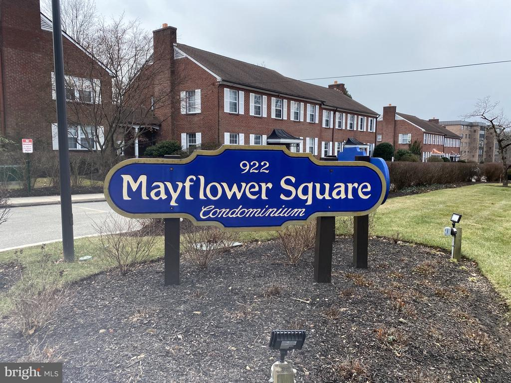 Completely renovated 1 bedroom 1 1/2 bath condo located in the desirable Mayflower Square Community.  Enjoy worry free living in this lovely condo conveniently located to everything the Main Line has to offer.   The recent renovation includes new flooring throughout the entire unit, a new full bath & half bath, new kitchen cabinets, countertops, and appliances.   There is also an additional storage closet conveniently located to the unit.  Lower Merion School District.