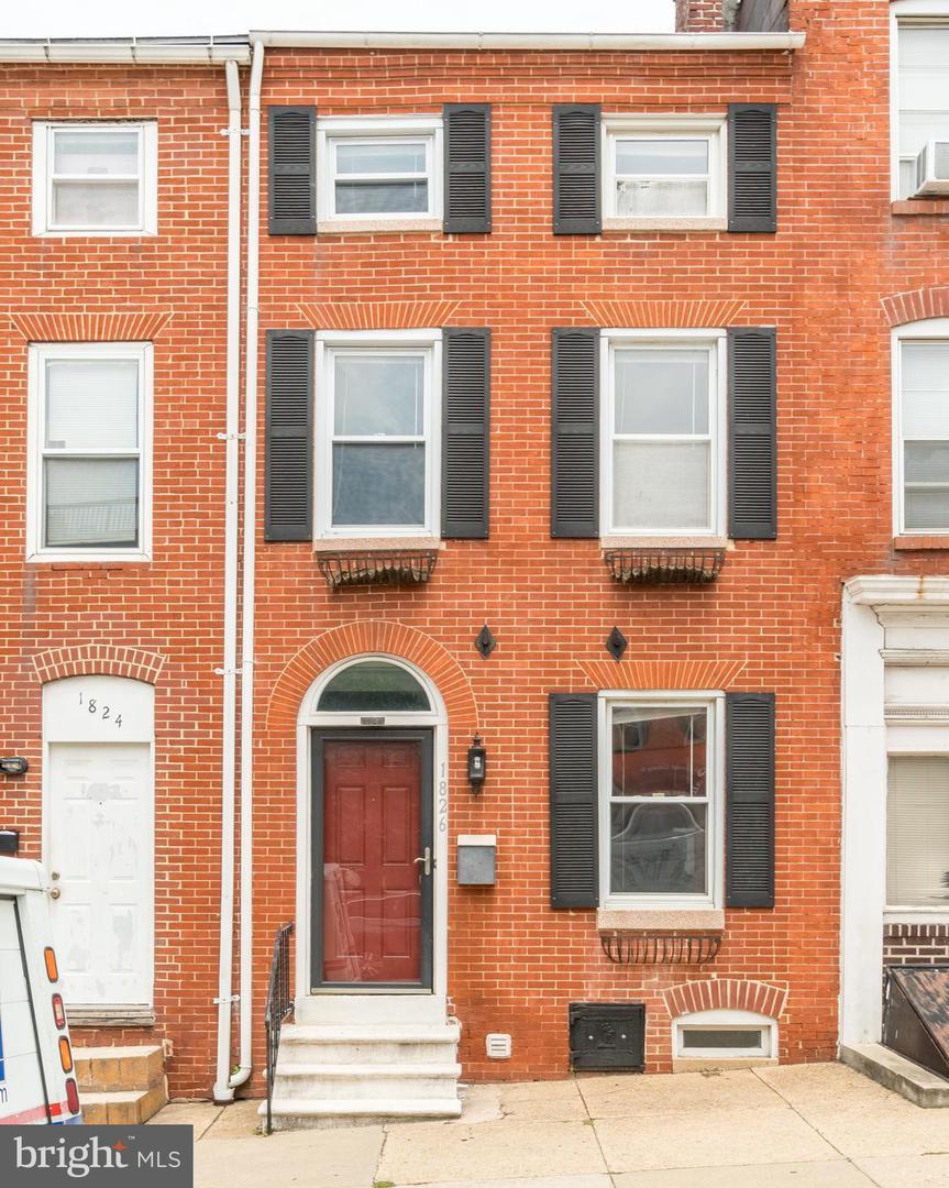 1826 Lombard Street   - Baltimore City, Maryland 21231