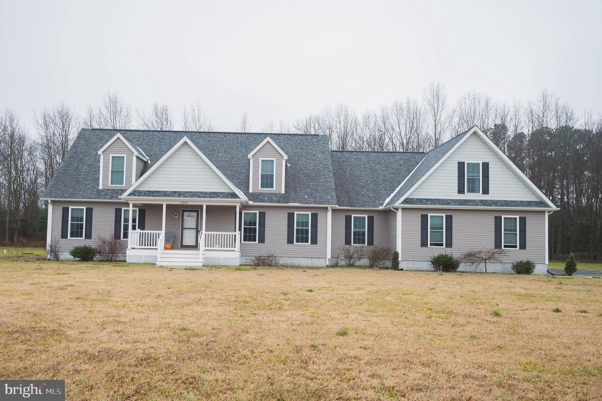 Location, Location, Location! One of the most ideal spots in lower Sussex County without HOA fees or city taxes. Conveniently located to Town amenities, 10 minutes to Wal-Mart and about 45 minutes to the resort MD & DE Beach areas. This Beautiful home sits on 3.22 acres in Delmar De, A spacious first floor master, Granite countertops,  and SS appliances. Do not miss out! Schedule your showing today!