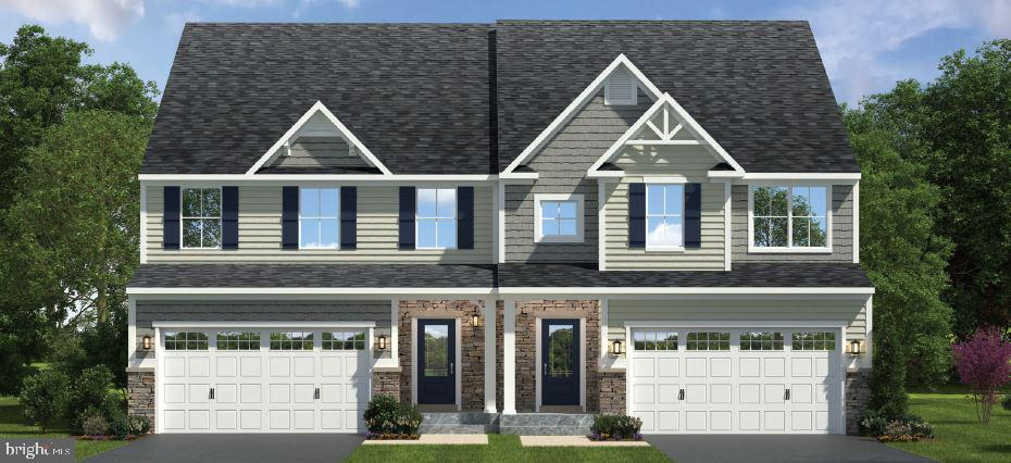 Quick move-in Franklin Hall at Greystone by NVHomes , move in this August! Homesite 542 is a luxury Twin Home featuring 1st floor owners suite in a spectacular estate setting near Rt. 100, 202, the 322 bypass, and West Chester Borough. From the moment you step into the Franklin Hall you will fall in love with the elegant yet functional style, with every amenity located on the first floor for the ultimate in convenience. The expansive foyer frames your view into the formal Dining Room and Great Room. The gourmet kitchen is a cooks delight with a breakfast bar that gives plenty of access to the dining area while the Great Room is light and airy, perfect for entertaining. The Owner's Suite features a gigantic walk-in closet and owners bath with dual vanity and shower. Upstairs, there are two additional bedrooms -- each with walk-in closets -- a Loft, full bath, and plenty of storage space. The space doesnt end there. Youll find a finished lower level featuring over 900 sq. ft. with a Recreation Room and Bathroom. The Luxury living extends beyond the inside of your home. Living at Greystone gives you the curb appeal you have always wanted from hardieplank siding with natural stone accents to bluestone porches and much more!  Other floorplans and homesites are available. Photos are representative. NVHomes is taking precautionary measures  to protect our valued customers and employees. Our models are open by by appointment.