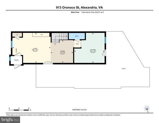 913 Oronoco St Alexandria VA 22314