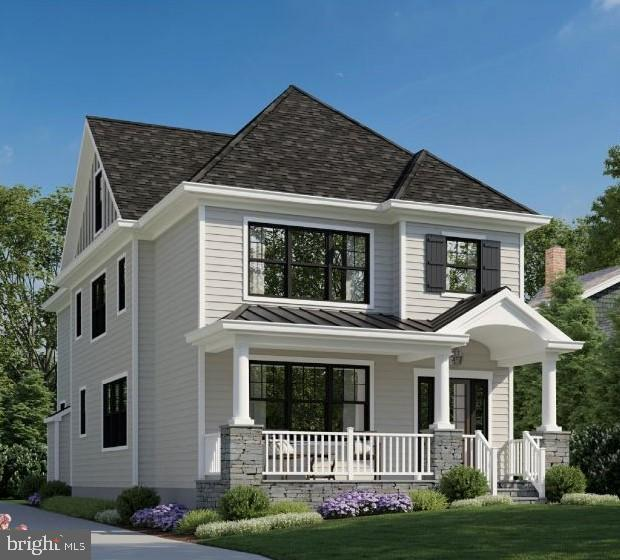 Looking for the best of both worlds where small town meets city and modern living?  Another pristine custom built home is coming soon to Narberth Borough on one of the best streets in town. The fantastic Rayer Home Builders, offers stately craftsmanship and if you get in soon, buyers can choose their own luxury materials and high-end finishes exterior as well as interior.  Imagine, upon entering the front door, you will immediately be drawn to the grand hall foyer with 8 foot tall custom-built doors with see-through glass windows, an open floor plan, gorgeous picture windows with natural light shining through, gorgeous hardwood floors, wainscoting and crown molding boasts throughout. The first floor includes formal living room/study for those looking for extra space during Covid, a spacious formal dining room to host dinners for guests, an open concept gourmet kitchen with 7 foot island, stainless steel (Thermador) appliances, eat-in breakfast nook area, and great family room with gorgeous coffered ceilings with gas fireplace. First floor also features a powder room, spacious pantry, ideal mudroom with custom built-in cubbies that leads out to a beautiful stone patio and driveway, perfect to bring in groceries and muddy boots  through. The back yard has enough space for gardening space or play set. Second floor offers a great master suite with beautiful mill work as the back drop, large en-suite bathroom and walk-in closet, two great size bedrooms with a Jack and Jill bathroom, large linen closet and a laundry room with wash tub that is convenient to your needs. Third floor offers two more spacious bedrooms that can be used as office space or extra guest rooms along with a hallway bathroom. The very large basement will have 12+ft Ceilings and option to finish. Impressive curb appeal will complete the exterior with a beautiful stone front porch, James Hardie siding, and shingle roof, yard, driveway and garage. 5 minute walk straight into Downtown Narberth, playgrounds and Award Winning Lower Merion Schools. Enjoy everything this house and community has to offer! Sample photos of the builder's work included will have similar interior features and finishes. Taxes and assessment TBD. This home isn't built yet but you can drive by the lot or make a private showing with listing agent.