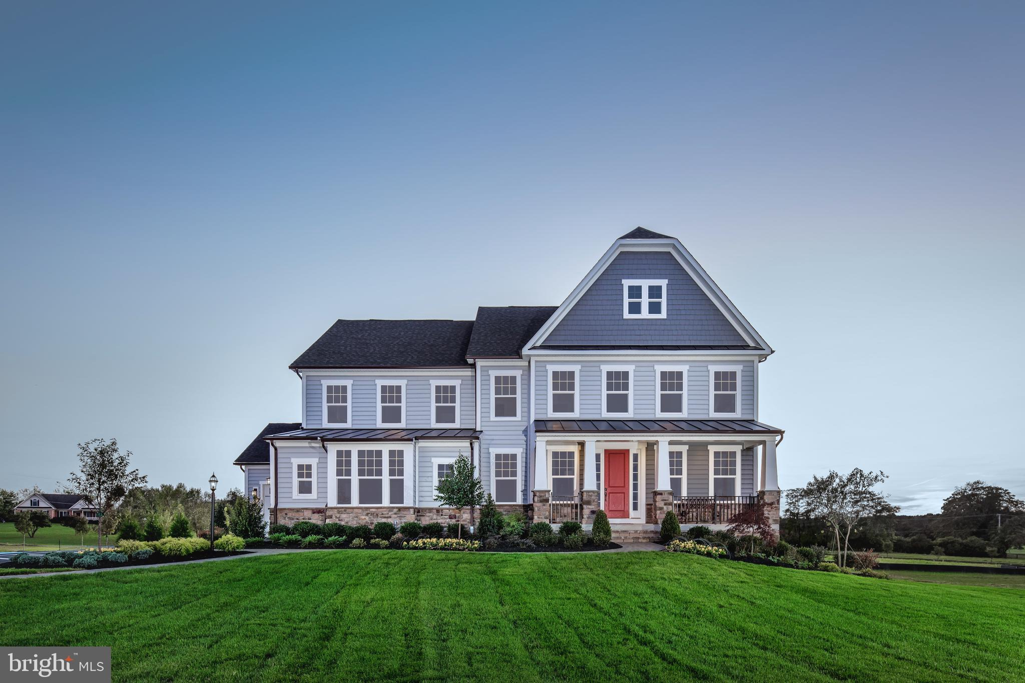 """Welcome to Greystone by NVHomes , a community that more than 100 people have already decided to call home! Greystone features the only single family homes in a neighborhood with sidewalks, rolling hills, and seven miles of walking trails just minutes from the Borough. The Marymount at Greystone features all the beauty and craftsmanship you deserve in a new home. You will love the hardieplank facade and blue stone front stoops that welcome you home. . As you walk into the foyer youre greeted by light-filled spaces that feel welcoming. To one side, is the dining room, perfect for formal gatherings. To the other a flex room to make your own, whether its a living room, music room -- even add glass double doors and built-in book cases to make it a library. Past a switch back, oak stair a gourmet kitchen with an oversized island that acts as the command center of the home, giving you a practical and functional space thats still elegant. Upgraded features including CushionClose cabinetry, quartz countertops, and 5"""" hardwood floors. The dinette is perfect for cozy family meals and the family room gives plenty of gathering space. Off of the 2 car side entry garage, you will enter into a family entrance with an arrival center and walk-in closet providing you with plenty of storage. Option for 3 or 4 car garage available. A double-door study makes work-from-home a viable concept, or make it a first-floor suite, perfect for guests. The second floor continues to give you the same sense of arrival as on the first floor with a wide hallway. Each of the bedrooms features a large walk-in closet and has access to a bathroom. But the true story luxury is shown in the owners suite. From its dramatic double door entry, this suite lives like a private retreat, providing two enormous walk-in closets, one with a full-length mirror; a tucked-away sitting area; and a spa-like bathroom with dual quartz vanities, roman shower, and a compartmentalized water closet. Your included finished baseme"""