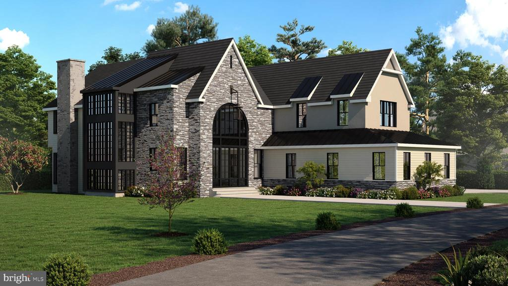 Best of the Main Line Radnor Township Masterpiece    Breathtaking new construction inspired by The stately Chataeu's  and  farmhouses of Europe this exceptional home will  sit majestically on a level one acre lot in desirable Bryn Mawr.   Exceptional craftsmanship  throughout this 7,500 square foot  slated for Holiday 2021 delivery.      Property can accommodate a pool, pool house , large patio and basketball area.      Please call listing agent for inquiries or to walk the property.