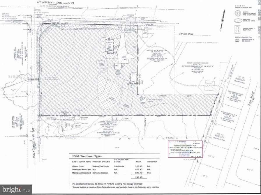 Existing 2 BR house, 2 car garage, & 2 outbuildings convey AS-IS * Existing house on septic & well...public sewer across Lee Hwy at THs * Public water at Holly & Lee Hwy * Tax maps 56-1-7- -2,3,8 & 8A ** 2.81  acres of land near Govt Center (S of Lee Hwy) comprised of 4 lots...currently zoned R-1, master planned low density R-1 up to an improbable R-2 *  Special Exception was  granted to a National Day Care Operator in 2019 and currently expired. Currently has tenant and please don't disturb.