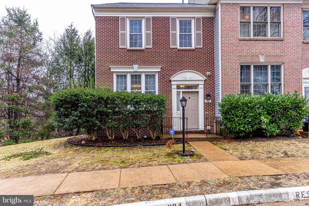 Luxury property in quiet, tree-lined Huntley Meadows, this lovely town home backs up to Huntley Meadows nature preserve! Convenient to Huntington Metro Bus lines, Richmond Highway shopping, Kingstowne, and a short ride to Old Town Alexandria! Home has formal foyer with coat closet and hardwood floors on main level and upper level hallway! Dream kitchen streaming with natural light from wall-to-wall windows features granite countertops, large island with designer lighting, bay window, and space for a breakfast room or special spot for television, office, home work, or crafts! The living and dining room boast hardwood floors, a bay window, and powder room! Two exceptionally spacious bedrooms on second level, each with its own bath and plantation blinds! Master suite features vaulted ceiling, luxury bath with separate shower, soaking tub, double sinks and walk-in-closet! Amply proportioned second bedroom with wall-to-wall closets! Lower level features gas fireplace, carpet, laundry room, bedroom, full bath, and walk-out to patio! Oversized windows, storage galore and two assigned parking spaces! Call today for your private showing!