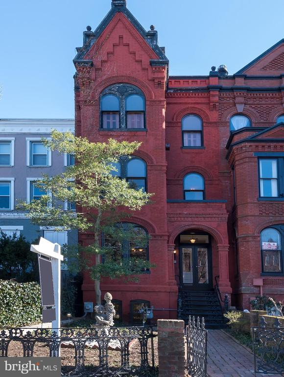 Note the Gorgeous exterior brickwork as you approach this Victorian Grand Dame! A rare opportunity to purchase a  4-5 bedroom; 3.5 bath home with original details throughout PLUS a 2 story carriage house and older in-law apartment in the basement.  Features include:  generous sized rooms throughout;  beautiful wood floors,  private rear yard and 1 car garage with a 2nd level.  This home is very livable but bring your imagination to renovate the kitchen and baths and you will have the home of your dreams!  1st lvl: dbl parlor; sep dining room; half bath and kitchen; 2nd level: 3 bdrms 2 baths; 3rd level; 2 bdrms, 1 bath . All showings by appts with Realtors - No Open Houses due to Covid.