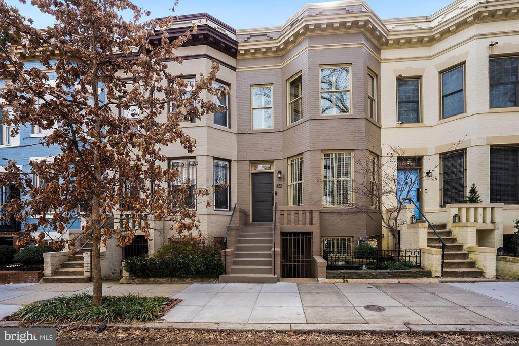 **CANCELLED -  OPEN SUNDAY IS CANCELLED! PROPERTY UNDER CONTRACT** Prime DuPont Circle location on one of the area's most coveted streets. Beautifully renovated and well maintained rowhouse with a bright open floor plan offering high ceilings and light filled entertaining spaces. Custom French Oak floors, well appointed kitchen  with high-end appliances and easy access to a slate terrace and two car garage. The upper level has two bedrooms, two full bathrooms with ample storage and laundry. The lower level, with private front and rear entry, accommodates a Study/Sitting Room/Bedroom,  with a full bath and storage area providing a great in-law opportunity.  Ideally located in this trendy neighborhood, home to numerous embassies, the Phillips Collection, coffeehouses, restaurants, bars, upscale shops and in close proximity to the Metro.