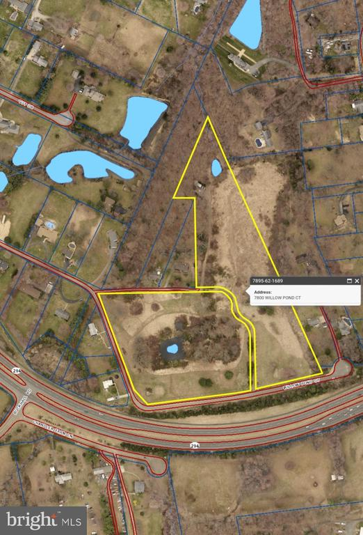 17.66 ACRES LAND FOR SALE (7800 & 7780 WILLOW POND CT). GREAT DEVELOPMENT OPPORTUNITY. ZONING COULD ALLOW FOR OTHER USES(RESIDENTIAL LOTS, CHURCH, EXPANDED FACILITY, RETIREMENT FACILITY, ETC.) LOCATED LESS THAN 1MILE FROM MANASSAS CITY LIMITS OFF PRINCE WILLIAM COUNTY PARKWAY. FORERLY KNOWN AS MANASSAS HILL GOLF CENTER/DRIVING RANGE.