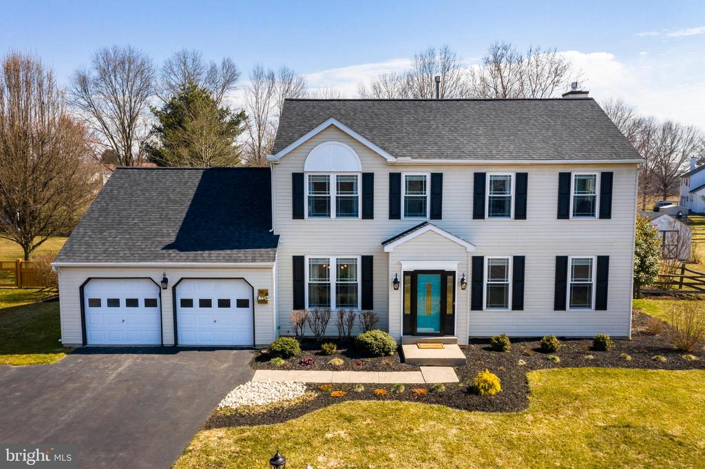 ***Showings will start on Friday 3/12 and professional photos will be added either Thursday or Friday.*** Welcome home!  You thought the perfect home, in the sought after Spring-Ford School District, would never be available but here it is!  This 4 bed 2.5 bath home in Limerick Township is ready for you to move right in.  The sellers have completed numerous updates in order to make this great home truly move-in ready for you.  Enter through the front door where you'll find gleaming hardwood floors that stretch through the foyer and into the sun drenched living  and dining rooms.  The kitchen which features stunning white upper cabinets with contrasting blue base cabinets with all new hardware.  The deep stainless sink sits beneath a window that looks out over the massive fenced in rear yard that allows you to keep an eye on everyone while still inside.  Granite counters, updated fixtures and tiled backsplash make this the space that entertainers dream of.   The recent opening of a wall that previously separated the kitchen and family gives this space the open feeling that gives you the ability to stay part of the action regardless of where the party is gathering.  A brand new Renewal by Andersen sliding door leads out to the rear deck where you can get ready to host those upcoming summer BBQ's  because once you're friends and family see this backyard they'll be inviting themselves over!  Head back inside and up to the 2nd floor where you'll find the master suite that is highlighted by wood floors, cathedral ceilings, huge walk-in closet with built in storage and master bathroom featuring tiled floor, dual vanity and shower with all new fixtures and hardware.  There are 3 additional bedrooms and shared hall bath that complete this floor.  If you aspire to be the next Chip & Joanna then you'll  love the huge oversized 2 car garage with separate workspace area plus TONS of built in cabinet space for all of your storage needs.  The unfinished basement is ready for you t