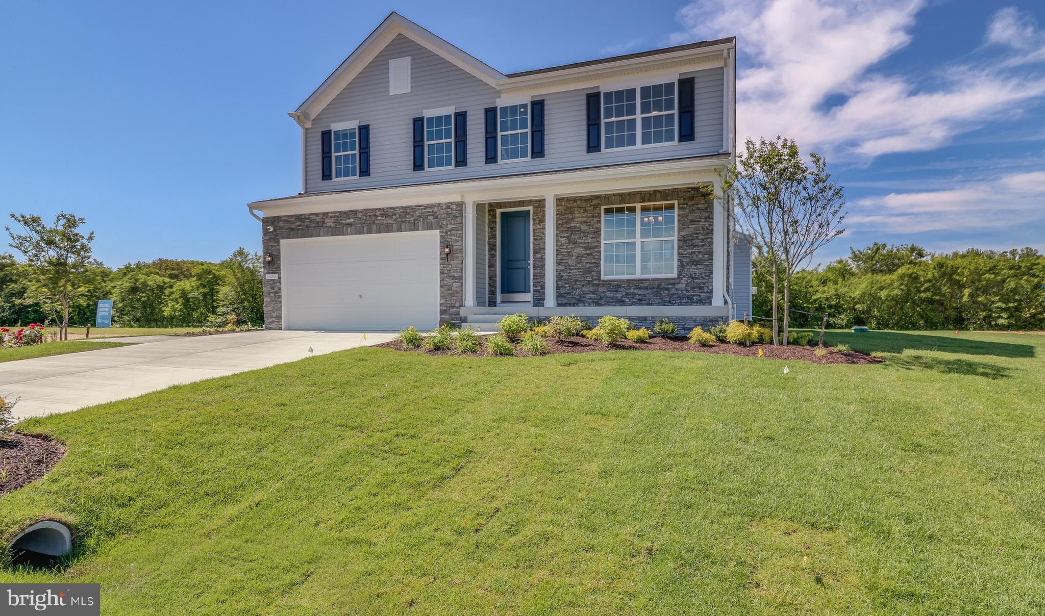 This model home comes furnished and will be available to move in no later October 31, 2021. Autumn Ridge, conveniently located in Milford, DE is a cozy enclave of 22 half-acre homesites offering five unique single-family home designs with first floor living options available. Enjoy quick access to Rt. 1 and a short drive to Dover or the Delaware beaches.  This listing is for the highly desirable Hanover II Model.  Call today to arrange your private tour.