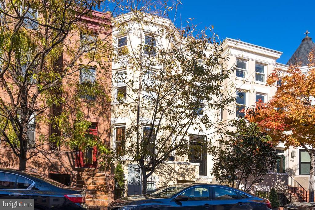 Amazing buy-and-hold-Investment opportunity in DuPont Circle! This home is completely leased and will continue to generate great rent. Comes complete with certificate of occupancy for all three units. All leases are long term and will transfer to new owner. This updated three level home has everything a landlord would want: an English basement with 2 bedrooms and 2.5 bathrooms, a 2 bedroom, 2 bathroom front facing unit with private rear deck and tons of natural light and a 2 bedroom, 2 bathroom penthouse style loft with spiral staircase and outdoor space! This home is truly plug and play, you won't have to do much to enjoy the fruits of this investment! Conveniently located between 17th and 18th Street- walking distance to tons of shops, restaurants, bars and shopping. Walk to Dupont or U Street Metro.