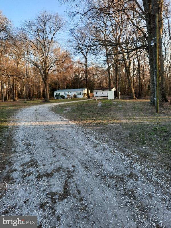 Public Auction starting bid $123,456 3961 Sandy Bend Rd. Marydel, DE 19964 Sunday April 25th @ 4pm Preview begins @ 3pm. No Other Showings. Remodeled, Move In Ready 3BR/2Ba 2.4 acres+/- 2 detached garages, Pond. Auction Held on Site.      Type a message