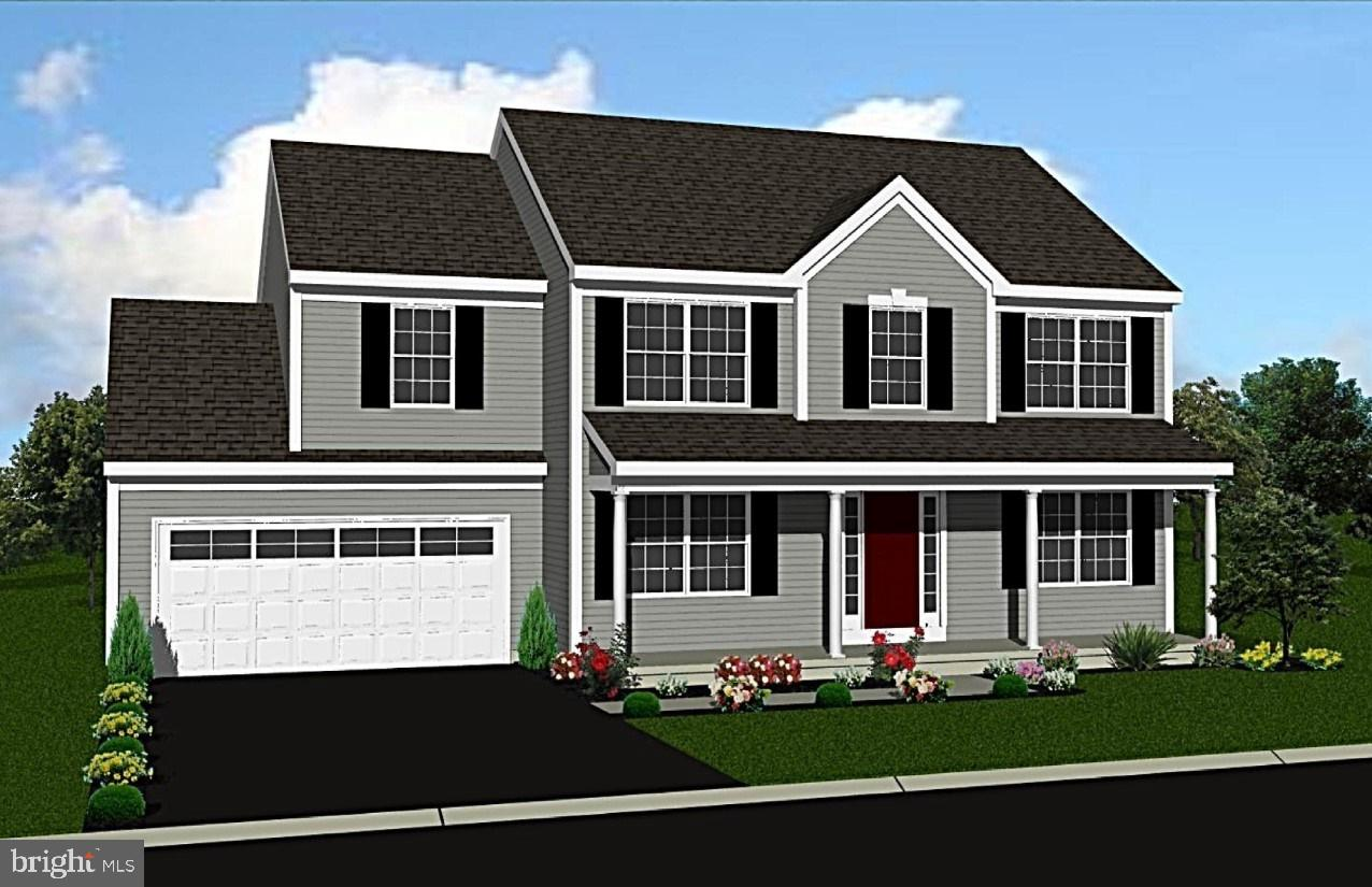 New Home Community of Stongegate Commons features the Bailey, a  two story, three bedroom home with full basement and two car garage.   Convenient open floor plan.
