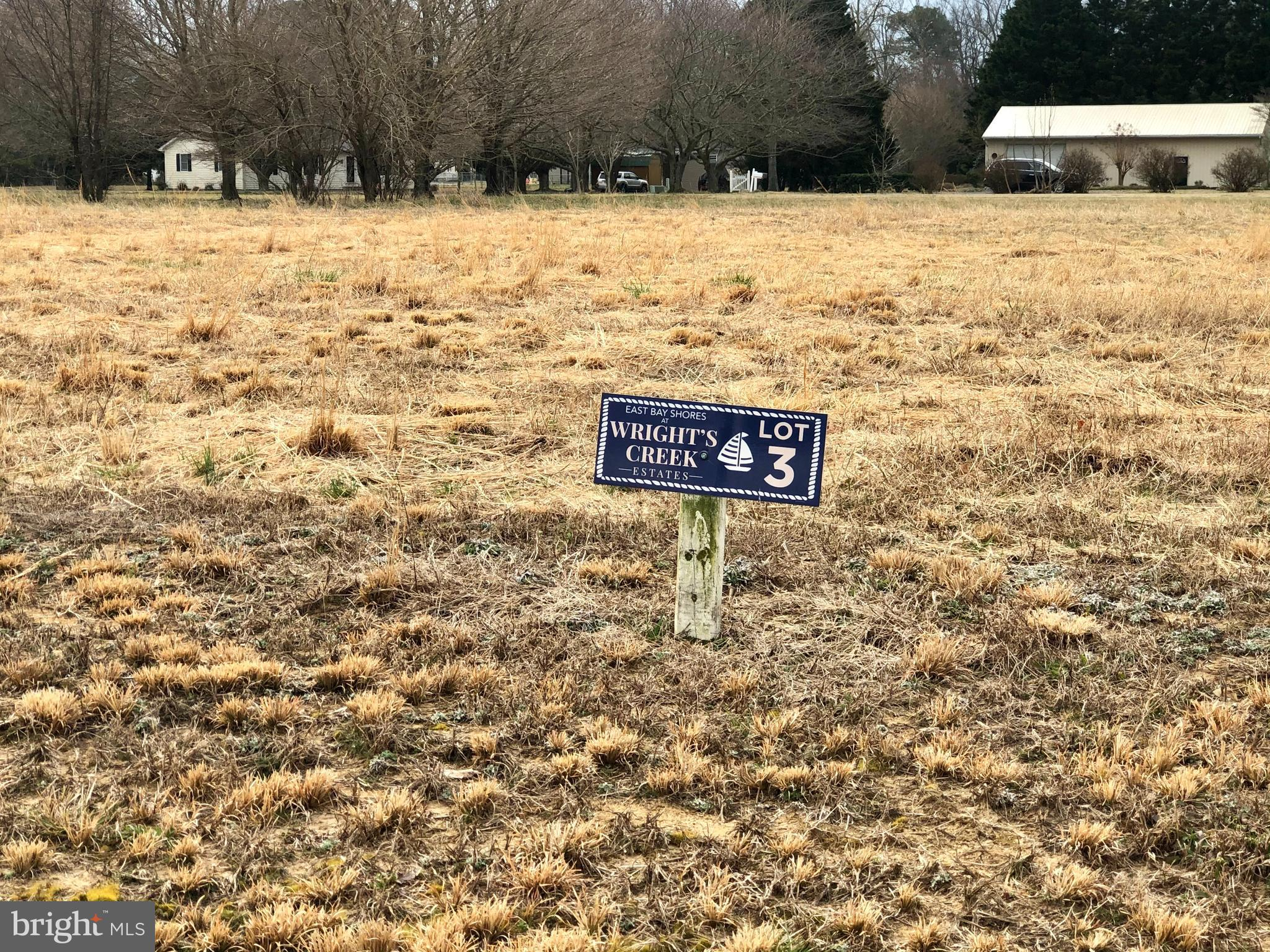 Now is the time to build a home. Nice out-of-town subdivision just minutes to Rt. 50/Cambridge . Enjoy having access to Wrights Creek.