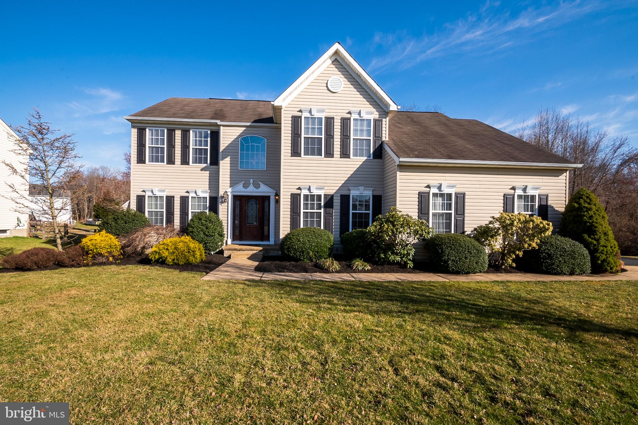 Welcome to 7 Whirlaway Dr in the award winning Appoquinimink school district! This extremely well cared for two story colonial home is now available for its new owner. As you pull up to the home, you will notice the ample parking, two car turned garage, and the freshly manicured landscaping. Entering the home into the two story foyer you will be greeted with true pride of ownership, fresh paint throughout, and tastefully updated luxury vinyl plank flooring that runs throughout the main level. The home features generous sized living and dining rooms right when you enter through the front door. And have you seen this kitchen? The current owner did not skip a step when doing this renovation. The kitchen features new white and grey cabinets, stylish quartz countertops and glass back splash, updated stainless steel appliances, updated fixtures, and a white farmhouse sink. The kitchen opens perfectly to the eat in area and the main family room. The family room features a vaulted two story ceiling, a gas fireplace, and boosts natural lighting! The main level also provides a secluded office space great for working at home, a sizeable laundry room, and an updated half bath. There are two staircases leading to the second floor which features four bedrooms and two full bathrooms. The ample sized main bedroom includes a walk in closet and a private four piece bathroom with a soaking tub, shower stall, and a dual vanity. There are three more generous sized bedrooms and a shared hallway bath to compete the second floor. Now, we are getting to my favorite features which are the secluded back yard space, the screened porch, and the newly expanded deck (2020) that make for great entertaining nights and BBQ's. Continuing with the attractive attributes, this home comes with an updated HVAC unit (2019) and an updated water heater (2020). This home truly has it all and you don't want to miss your chance to own it! Visit the open house Saturday March 27th from 12-2pm or schedule your tou