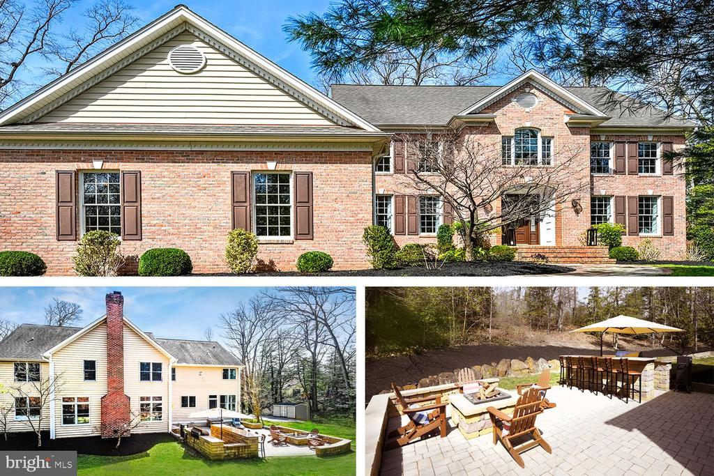 Builder's Previous Custom  Home in Severn River Community! Over an acre on a private, secluded lot in the Heart of Severna Park! No detail overlooked with over 7,500 finished square feet designed for entertaining with 6 bedrooms and 6 full baths. Two-story Foyer greets you with today's neutral color palette! Home Office/Living Room and formal Dining Room flank either side of the Foyer. Large Family Room with Wood Burning Fireplace and door to the Patio. 24'x17' Kitchen with gas cooktop island, space for barstools & dining table, built-in desk with cabinetry, stainless appliances, rear staircase and garage access.  Main Level Bedroom with adjacent Full Bath.  The Primary Bedroom is quite the retreat with a stone gas Fireplace and Sitting Area to relax. Huge Walk-In Closet with laundry chute and En Suite Bath with vaulted ceilings, soaking tub and separate shower. Each of 3 additional Bedrooms on this level have En Suite Baths! Wide landing between Bedrooms with access to front and rear staircases. Lower level is where all the fun happens! Area for kids gaming systems, ping pong, shuffleboard on one side and on the other a  Built-In Bar with concrete top, 2 bar refrigerators and view to watch all the big games on the motorized projection screen! The lower level also has the potential for an In-law Suite/Yoga Studio/Craft Room/Home Office with its separate entrance into the 6th Bedroom. Oversized 3-car Side Entry Garage with 18' ceiling height and 220v prewired  to add a lift for all of the car lovers! Outdoor entertaining area with Paver Patio, Built-In Grill, Bar and Fire Pit with complete privacy from neighbors. Average $300 monthly for gas and electric combined  due to energy efficient infrastructure! How awesome is that for a house with this square footage?!? Community amenities include 3 beaches, boat slips and brand new clubhouse.  Perfect commuting location to Annapolis, Baltimore , Ft Meade/NSA. Too many custom details to list! Come view this property to see a