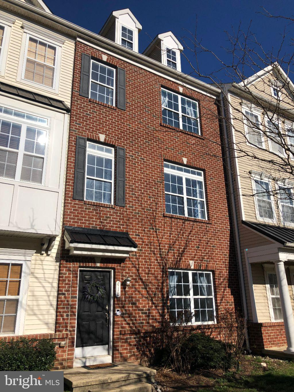 Superb, spacious brick front townhome located in the heart of Middletown and the ever popular Appoquinimink School District!!  Entrance level includes bonus room (perfect for home office or gym), oversized storage room and rough in for bathroom.  Spacious kitchen complete with island, pot rack, upgraded cabinets, breakfast bar, separate eating area, and recessed lighting, great room with loads of natural light,  owners suite with walk-in closet, second floor laundry, all fresh paint and carpet, rear deck, one car garage and the list goes on!  Don't miss this gem!!