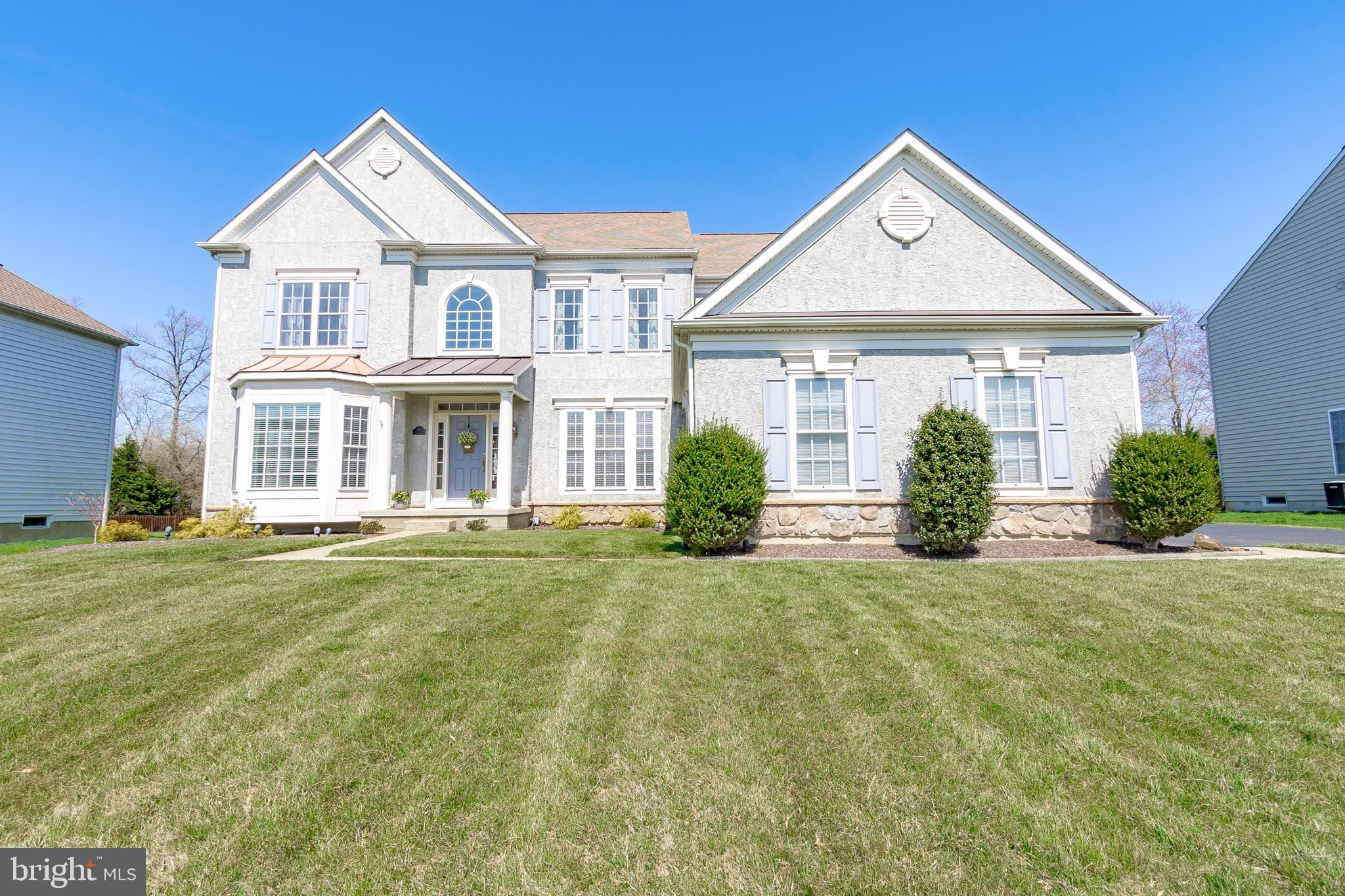 Check out incredible virtual tour at https://www.dropbox.com/sh/9nj3nnul6wb88ia/AAD9s8OMafSKbH0BlHk7_KZaa?dl=0&preview=81+Hempstead+Dr+-+1080.mp4. Open House Saturday, April 3rd from 12:00-2:00. Rarely available beautiful home, with an amazing in-law suite, located in the highly sought after Estates of Farmington. Enjoy living North of the Summit Bridge and in the award winning Appoquinimink School District. From the moment you drive up, this home is a true treasure with a huge bay window, covered front porch and 3 car garage! As you enter, you are greeted by the two-story open foyer and the adjacent living room and dining room. Next you will find the two-story family room with a wood burning fireplace that opens to the pristine kitchen. The kitchen features cherry cabinets, corian countertops, an incredible center island, recessed lighting, a walk-in pantry, and a Florida room filled with windows. A true chef's delight! On this level, you will also find a spacious office, powder room and laundry room. Upstairs you will find the impressive master suite and master bathroom with double vanities, a stand-up shower and a soaking tub. There are three additional bedrooms upstairs; one bedroom has its own private full bath, and the other two bedrooms share a jack and jill bathroom. The true gem of this home is the finished lower level! Featuring over 1500 square feet, this space includes a family room, bedroom, game or exercise area, full bathroom, storage room, a kitchenette, and a separate private entrance! And for our nautical friends, you will absolutely love the 8 foot wide, 300 gallon, built-in fish tank! Between the upper levels and the lower level, this home boasts over 5000 square feet! However, it does not stop there. This home sits on a half acre with a gorgeous composite deck and fenced yard! Just in time for summer fun! Close to the YMCA and the premier Glasgow Regional Park with full amenities including a huge playground, a state-of-the-art skate park, bark p