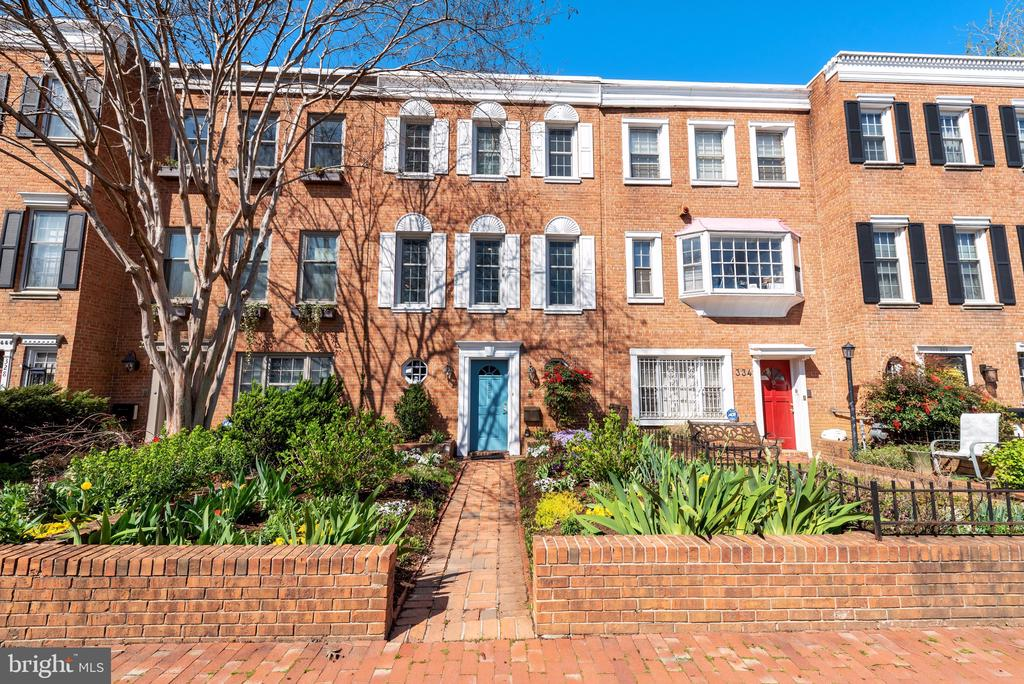 Perfectly located along historic Constitution Avenue in the Capitol Hill neighborhood. This magnificent rowhome is just steps to the U.S Capitol complex. This home offers the best in home living, and two huge rooms for entertaining. The 3 bedroom/3.5 bathroom home has been carefully maintained and recently updated by the current owners. Three fireplaces - one on each level.. Bright sunlight fills each room through large windows on every level. The entry level room can be used as a home office space, entertainment room, or bedroom. On the top floor enjoy two sizable bedrooms.  Plenty of outdoor space. A gorgeous garden in the front and a rear  brick patio with landscaping, and a large shade tree. Parking is included. It's located just outside the rear gate. See floor plans for exact placement.