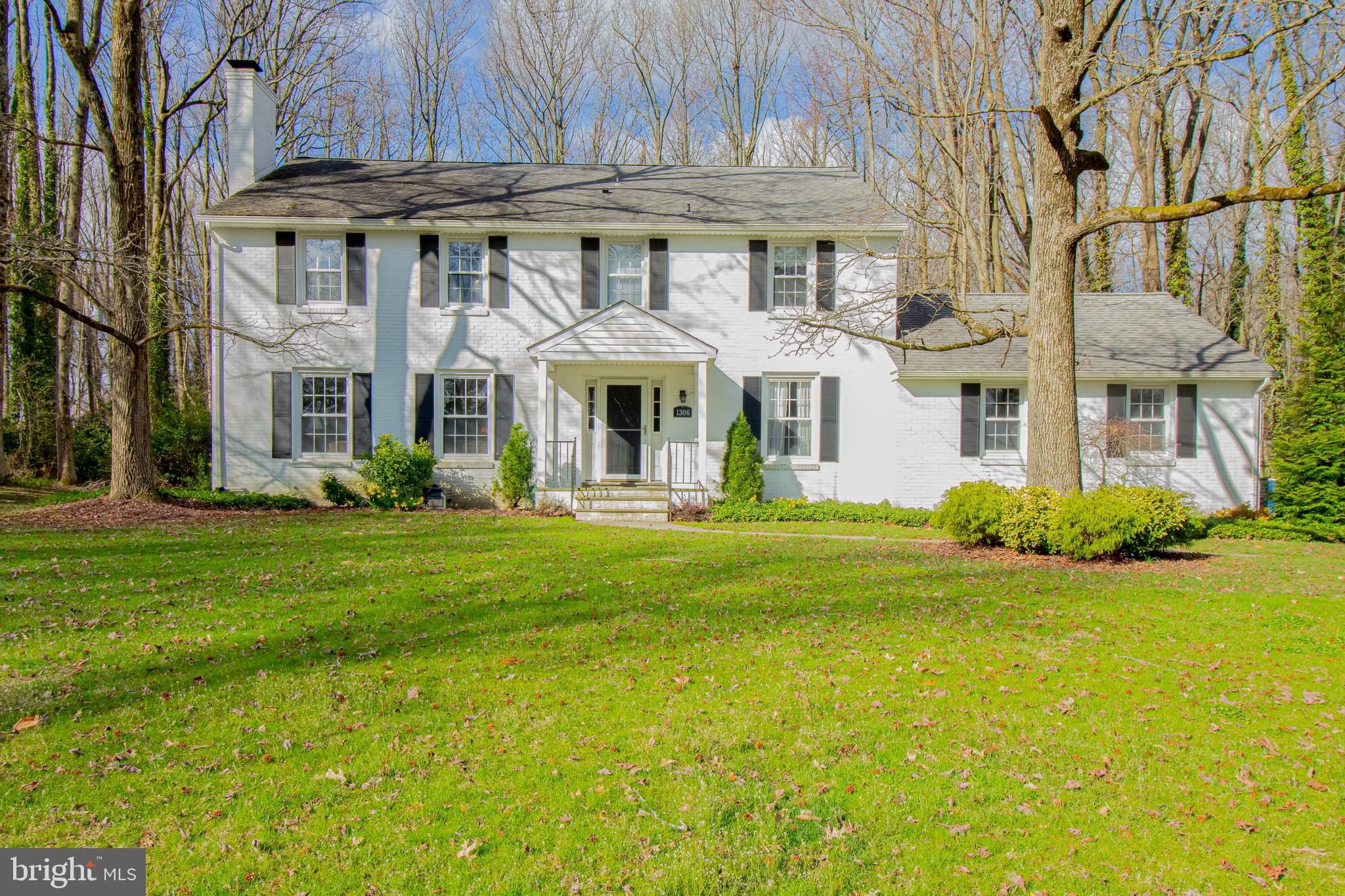 Quality describes this exceptionally maintained home in the sought after Welshire neighborhood. Location is everything, and this spacious 5 bedroom 2.5 bathroom Brandywine Hundred home is located conveniently near multiple state parks, walking trails, Route 202, I-95 and everything else that North Wilmington has to offer. You will immediately be greeted by the elegant curb appeal of the stately brick exterior, well manicured landscaping and extended front yard. Start your tour inside through the bright and open foyer and into the formal living room that offers an abundance of natural light and brick fireplace centerpiece. Continue into the spacious eat-in kitchen to find your quality solid wood cabinets, granite countertops, recessed lighting and stainless steel appliances. Right off of the kitchen is your first-floor office or fifth bedroom option, and access to the screened in porch and two-car garage. You will also find beautiful hardwood flooring throughout, your formal dining room, convenient powder room and second spacious living room. On the second floor you will find three spacious guest bedrooms with plenty of closet space and a recently updated full bathroom. Last but not least is the master bedroom with attached ensuite and an abundance of closet space. On the lower level is the beautifully finished basement with egress window giving you a ton of options. Outside is a spacious backyard, perfect for relaxing or entertaining. If you are looking for a spacious home with an abundance of storage and the ability to entertain for any occasion, this is the home for you. This home truly has it all, the only thing left for you to do is move in!
