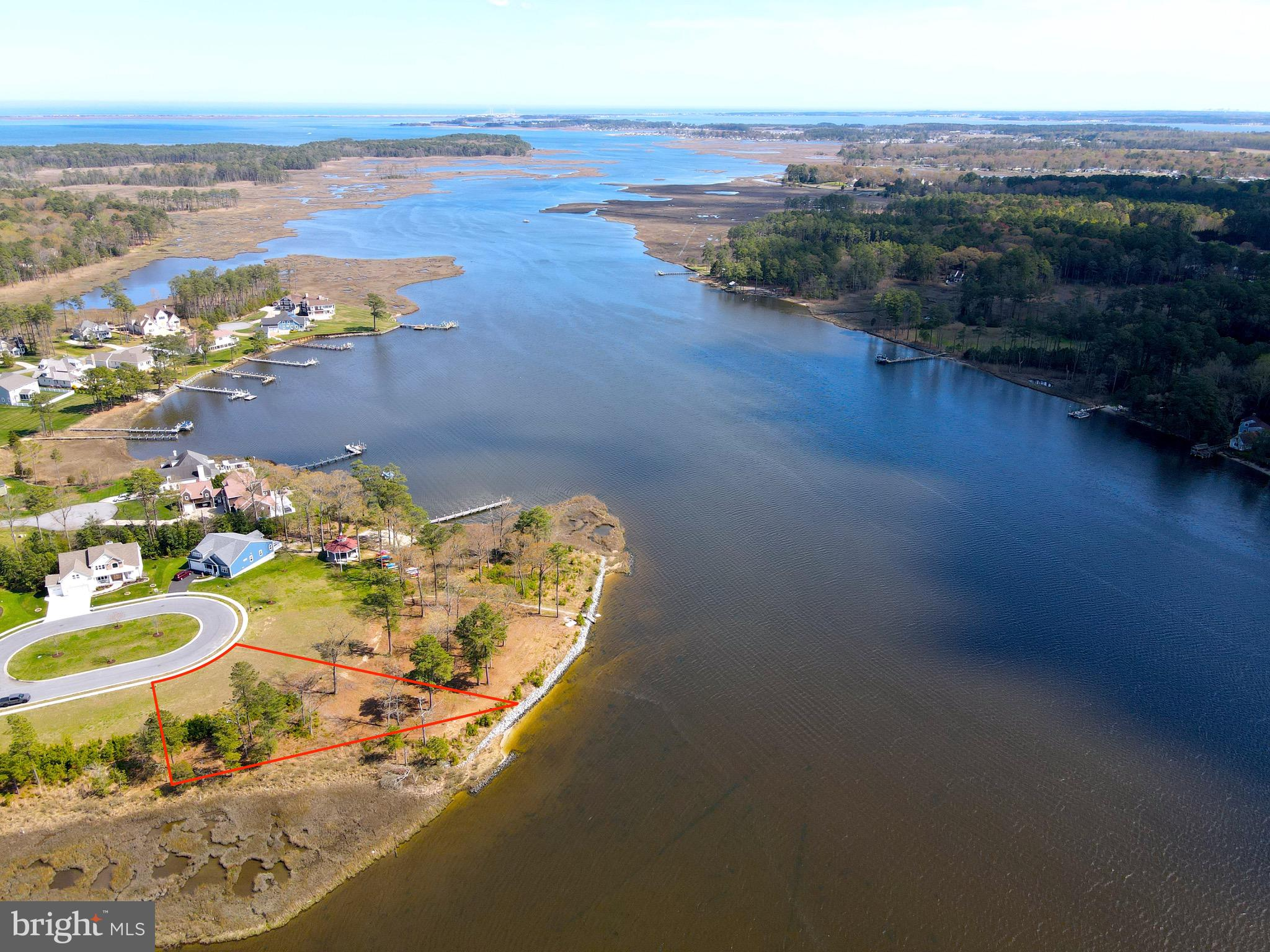 """Incredible water front property located on Herring Creek, in the beautiful community of Bay Pointe! This to-be-built**** lot-home package features the Hannah Model, by Sussex County Custom Home Builder of the Year, Capstone Homes. This two story, 4 bed, 3.5 bath home incorporates a first floor owners suite along with a two story open great room to take advantage of the breathtaking views down Herring Creek! Price includes all """"On Your Lot Standards"""" (sheet attached), along with $20,000 in builder upgrades for the purchaser to personally allocate. This package will not last long, be sure to call and schedule your appointment and tour a Capstone model!"""