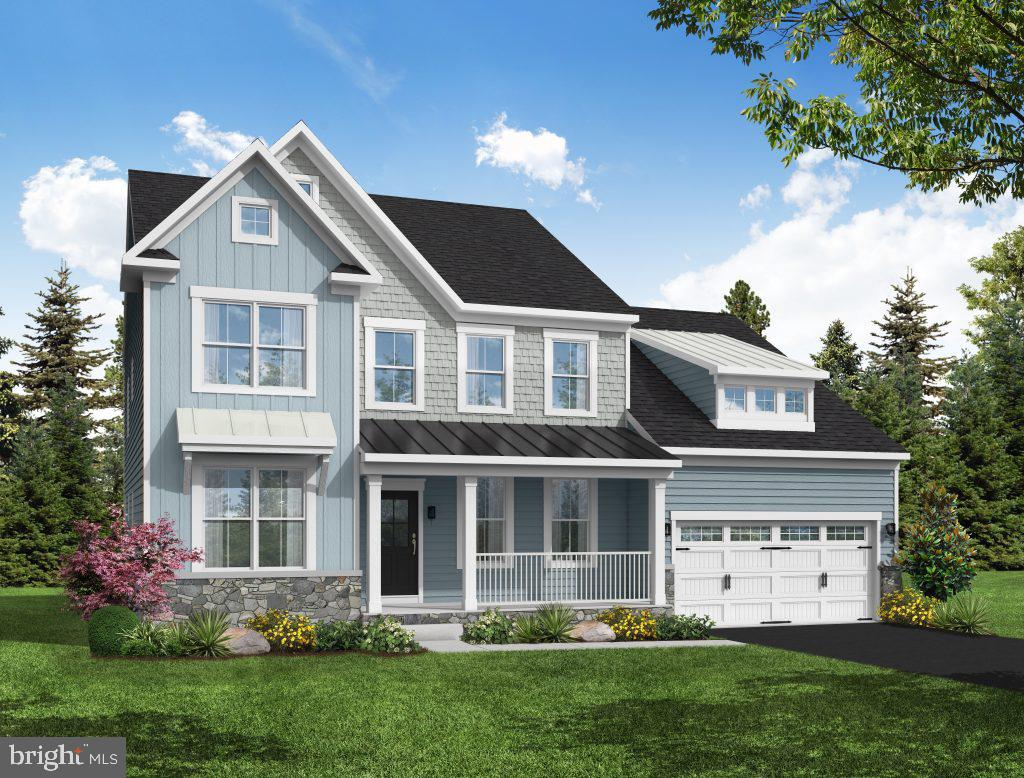 We are excited to introduce our latest floorplan with a first-floor owner's suite along with an option for a second floor owner's suite.   Additional features include a main level and upstairs laundry, Our  open and expandable floorplan features a dramatic 2-story great room, a fully finished basement,  5 bedrooms with the option for a 6th,  a sunroom, extended great room, gourmet kitchen, and  hardwood floors  throughout the main level. to be built on this level estate homesite.
