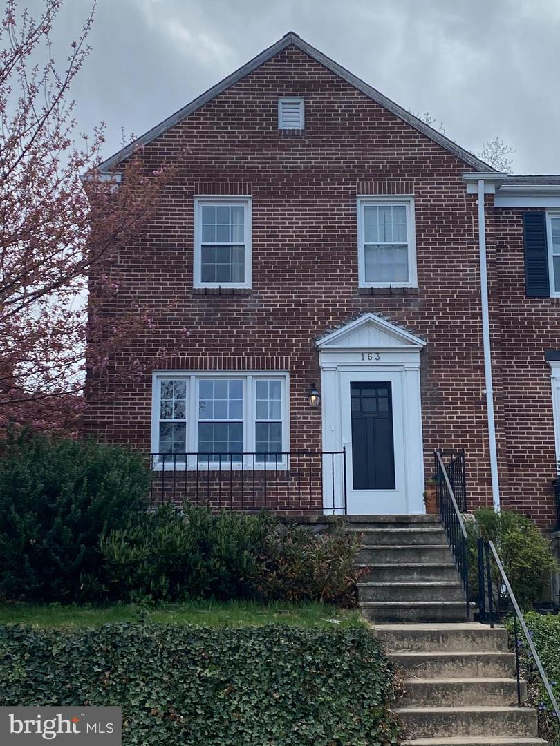 163 Stanmore Road   - Baltimore, Maryland 21212