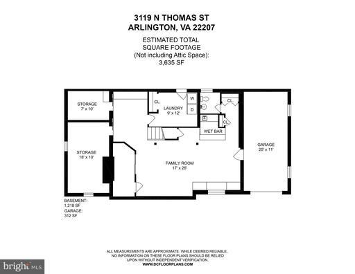 3119 N Thomas St Arlington VA 22207