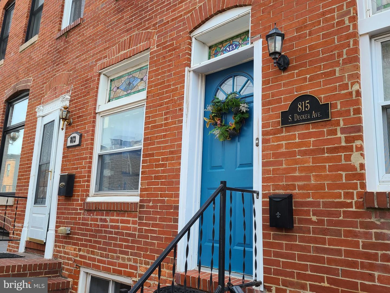 815 Decker Avenue   - Baltimore, Maryland 21224