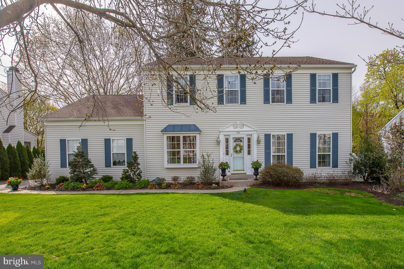 You won't want to miss this exceedingly charming & updated home on a lovely cul-de-sac within minutes to 'walk-around' West Chester & its plethora of great restaurants, Rts 202 S to Wilmington (25 mins), & N to K of P (15 mins), Longwood Gardens, Brandywine Museum,  Andrew Wyeth country, Historic Brandywine Battlefield and sooo much MORE TO DO (even during a pandemic)!  Under the stewardship of the owner in 2004, 506 Hansen Drive has been transformed from an ordinary 'property' into an exceptional home!  The wall between the kitchen & FR was removed…ceiling beams & floor to ceiling custom made bookcases flanking the fireplace were installed along with a bay window overlooking a wonderful post & rail fenced yard for that special pooch.  A professionally designed mellow Kitchen including a cherry-topped island and built-in floor-to-ceiling hutch resulted in a  unique furniture-quality living space and a beautifully arched window over the Farmhouse sink focusing on the backyard!  Sliders from the Kit/FR transport you to an oversized Trex Deck & a few steps down to a heavenly (wired) post & rail fenced yard with flower garden borders!  Of course, there is a gracious LR & DR with beautiful, white coffered ceilings that greet you as you enter.  Turn on the music, as there are speakers throughout the 1st floor and deck as well as the MBR!! Upstairs, the MBR is amazingly enhanced with 2 LARGE w/in closets, a vaulted ceiling and a large, updated MBA!  There are 3 additional Bedrooms and an updated Hall Bath.  The Basement is a wonderful area complete with a full bathroom, Recreation Room, a Bedroom/office, & a mechanical/storage room.   Power outages...not YOUR problem as there is a whole house generator to keep you comfortable at any time of the year!   A home so welcoming the Eastern Bluebirds return every year to raise their family in this backyard!  Truly Heaven for the lucky new owners! Welcome home!