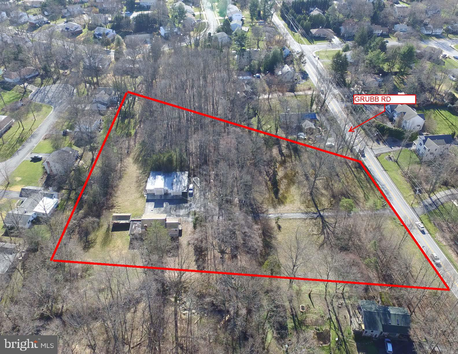 INVESTORS / BUILDERS /  CONTRACTORS- Prime 3.3 acres of land in the heart of North Wilmington. Great opportunity to subdivide out into lots.  Preliminary site plan completed showing (5) buildable lots per New Castle County zoning requirements. Property is conveniently located just off Foulk & Grubb Road intersection. House and garage are being sold AS-IS. House is in need of full renovation or tear down.  Call listing agent for additional information.