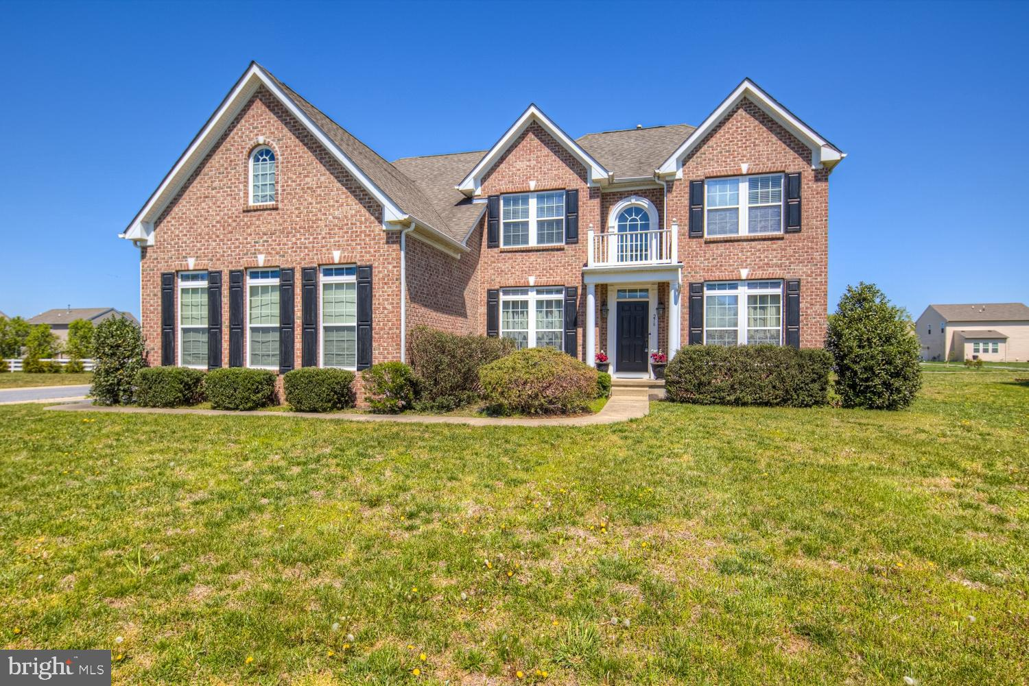 This beautiful home boasts an open and airy floor plan and plenty of room to make it into your own. Located on a premium corner lot within a short walk to Hazel Farms Community Center with Pool! Upon entering through the front door, you are greeted by a wide center hall foyer that leads past the large formal living and dining rooms. Just beyond the formal dining sits a bright and spacious gourmet kitchen that features a pantry, upgraded 42-inch cabinets, recessed lighting, stainless steel appliances, granite counter tops and a gourmet island with seating. It is a chef's paradise that overlooks the beautiful morning room, great for entertaining family and friends. The bright and airy morning room leads to the backyard with a large custom patio and fire pit perfect for entertaining. Back inside, the kitchen is open to the large family room with a true open floor plan, columns and a beautiful fireplace flanked by a wall of windows. Off the family room is an office/study room, perfect for working from home, or providing a serene dedicated space for kids to do homework. Upstairs there are 4 bedrooms and a laundry room. The three secondary bedrooms share a full bathroom that features dual vanity on this level. Rounding out the upstairs is the Owner's Suite which features walk in closet, seating area, a large bathroom with a tile shower with seating, soaking tub, and double vanity sinks. Back downstairs in the finished basement there is a ton of additional finished space including a rec room, a home theater room and a full bath. Call today to schedule your private tour.