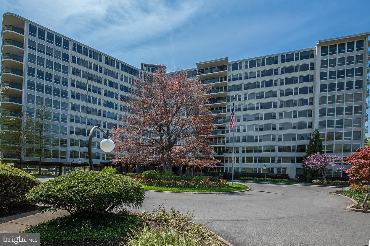 Welcome to sought after Sutton Terrace in the heart of Bala Cynwyd.  Opportunity to own ½ of the small hallway on the 4th floor!  Apartments 413-414 have combined a 1 Bedroom with Den and 1 Bedroom unit to create a sprawling 2 Bedroom (1 currently used as office)2 ½ Bath unit with 2,164 sq/ft offering flexibility to configure the space to fit your own lifestyle.  Enter apartment from #414 where you'll find a traditional setup with a large open Living Room/Dining Room that features a wall of windows, built-ins and door to fabulous covered balcony.  Directly adjacent the cozy Den has built-in dry bar and wall of windows.  The Dining Room leads into the galley Kitchen. In the hall leading to the Primary Bedroom is a Powder Room and a separate large storage closet outfitted with cabinets.  The light-filled Primary Bedroom with wall of windows boasts hardwood flooring, dressing room with 2 walls of closets and tiled Bathroom with tub/shower and vanity.  Move into the 2nd Bedroom currently being used as an Office with built-in desks and closets.  A door leads to another generous sized 2nd Living Room with sun streaming from wall of windows, 2nd Kitchen with pocket door, upgraded full tiled Bathroom with stall shower and vanity and 2nd entrance to unit.  Bring your imagination, the possibilities are endless! Washer and Dryer in unit. Easy access to City, train and buses. Close to restaurants and shops. 24hr Doorman building. Fitness center on site, outdoor swimming pool($110/ per person /season), library and social room. Outdoor parking lot and when available garage parking for rent. $2500 Move-In Refundable fee after 30 months. 2 months Capital Contributionship condo fee due at settlement.