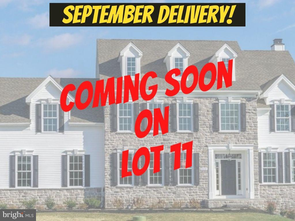 """Community Closeout! 1 of only 2 homes remaining. ***Under Construction on Lot 11 for September 2021 Completion!***Brandywine II model with 3-car side load garage on half-acre sodded lot! Primary Bedroom upstairs has bonus/sitting room AND 2 walk-in closets! 3 additional guest rooms. One guest room has en suite bath. 3 full bathrooms in total PLUS 9' basement and plumbing rough-in for future 4th full bath. Upgrades included in this home and price: massive trim extras including box beam coffered ceiling in family room, floor to ceiling shiplap on fireplace wall, family built-in cabinetry, mudroom cubbies, dining room wainscot, craftsman style baseboard and casings, plumbing, electrical and hardware upgrades throughout, flagstone front porch, upgraded kitchen layout with expanded island, breakfast bar with wine/beverage fridge and floating shelves, Thermador range and dishwasher, custom grotto with exterior exhaust, board & batten shutters, freestanding tub in primary bath with telephone style handset, upgraded bathroom cabinets and countertops, .  ***Only 12 single family homes will be built,  just minutes from Malvern Boro. Generous standard features like 42"""" Century kitchen cabinets, stainless appliances, hardwood stair treads and smart home WiFi-enabled technologies. Enjoy public sewer, public water, and natural gas convenience. Megill Homes has been building award-winning luxury homes for over 50 years. This is your opportunity to enjoy custom quality construction in a highly efficient floor plan. Residents served by Great Valley High School and Middle School, and Sugartown Elementary School. Minutes to Amtrak/Septa, Great Valley Corporate Center, Wegman's, routes 202, 30 and the Turnpike. *** Photos show previously built homes and may depict options and upgrades not included in the home on lot 11.  ***GPS 120 Sproul Rd, Malvern***Rolling Pricing in Effect***"""