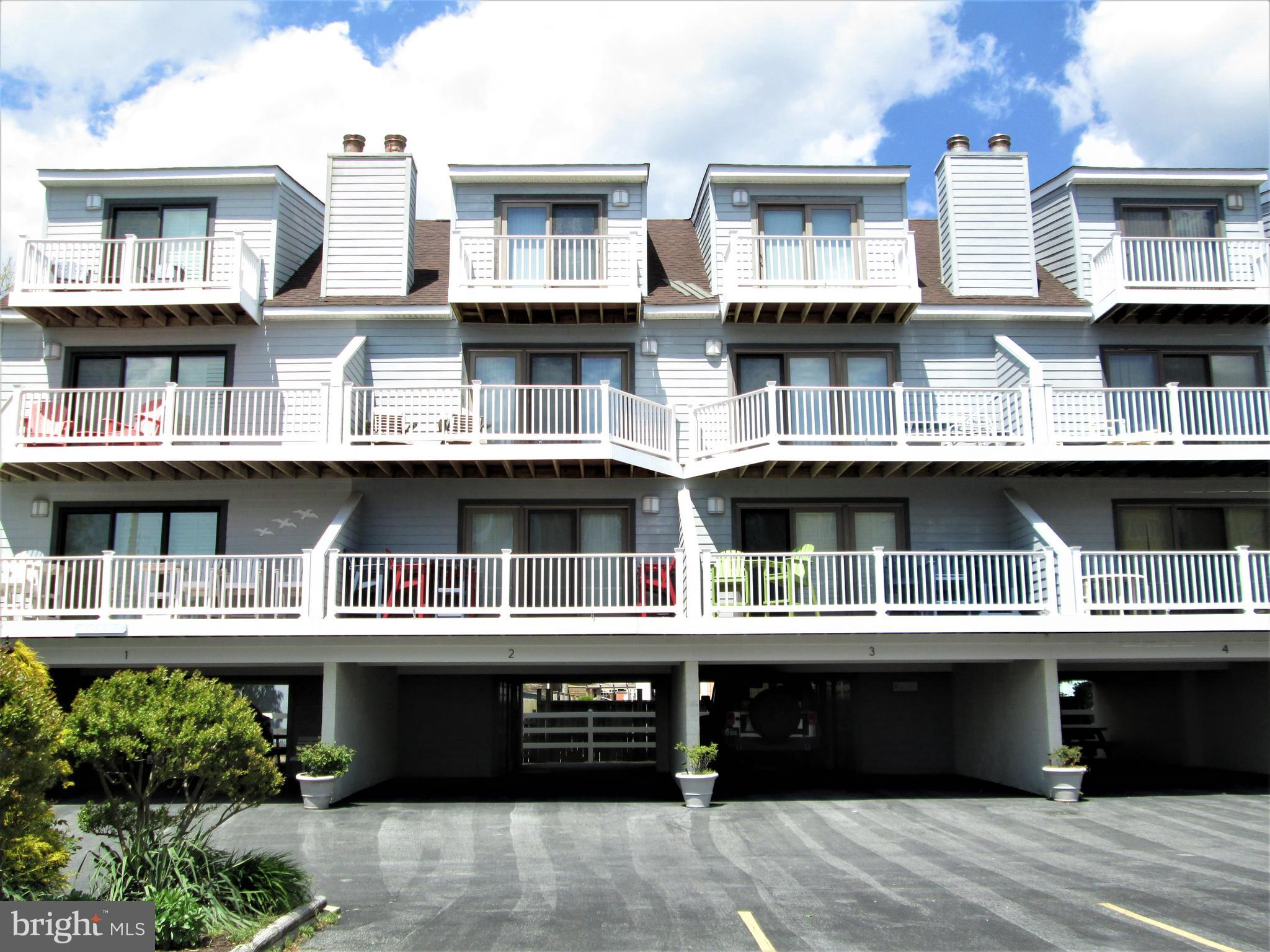Beautiful unit with 3 Br. 3.5 Ba. possible addition of a 4th Br.  Recently upgraded and is beautiful inside.  Short walk to the lifeguarded beach in Fenwick Island. These units rarely come on the market.